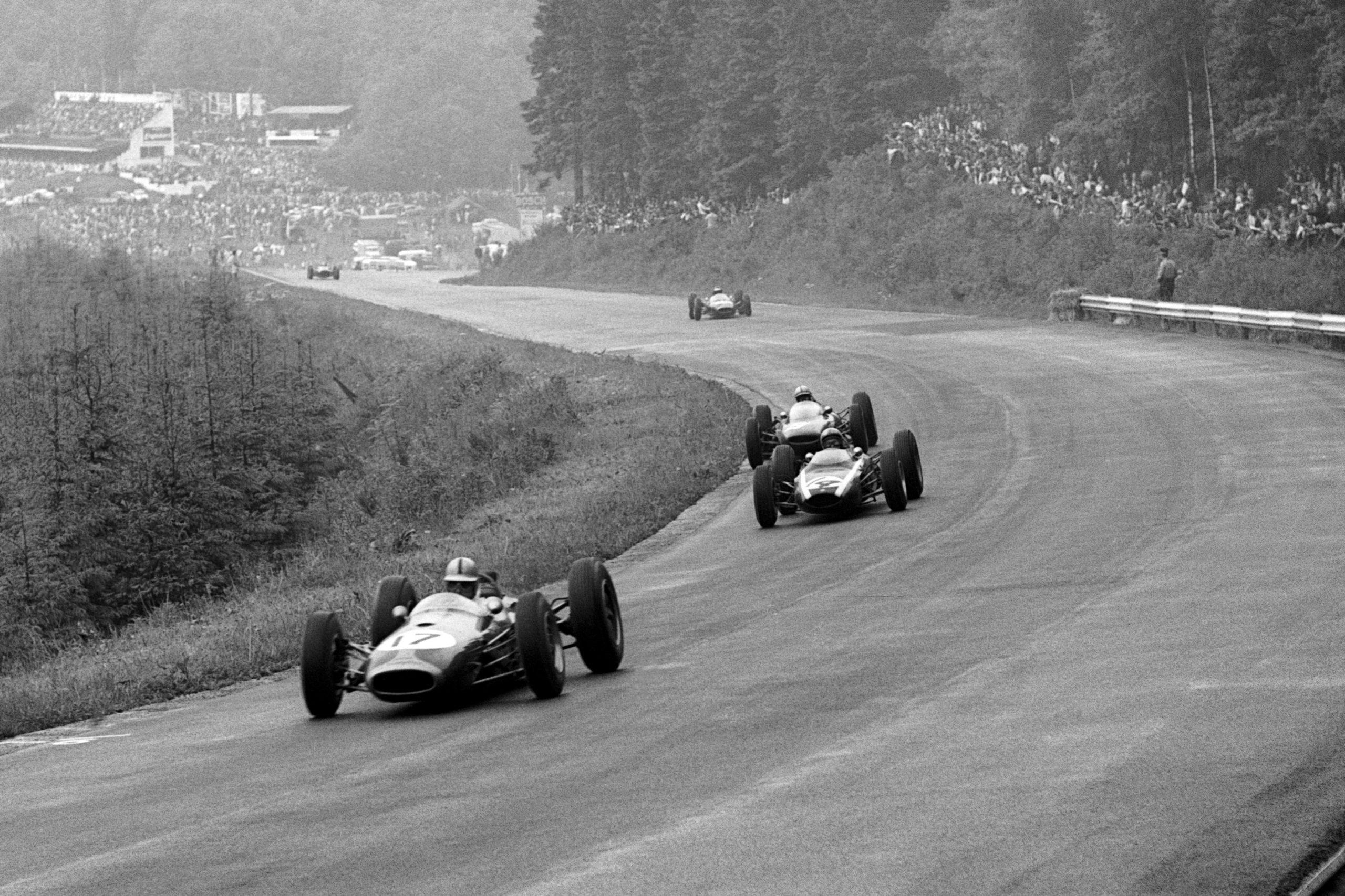 Jack Brabham in his Brabham BT3.