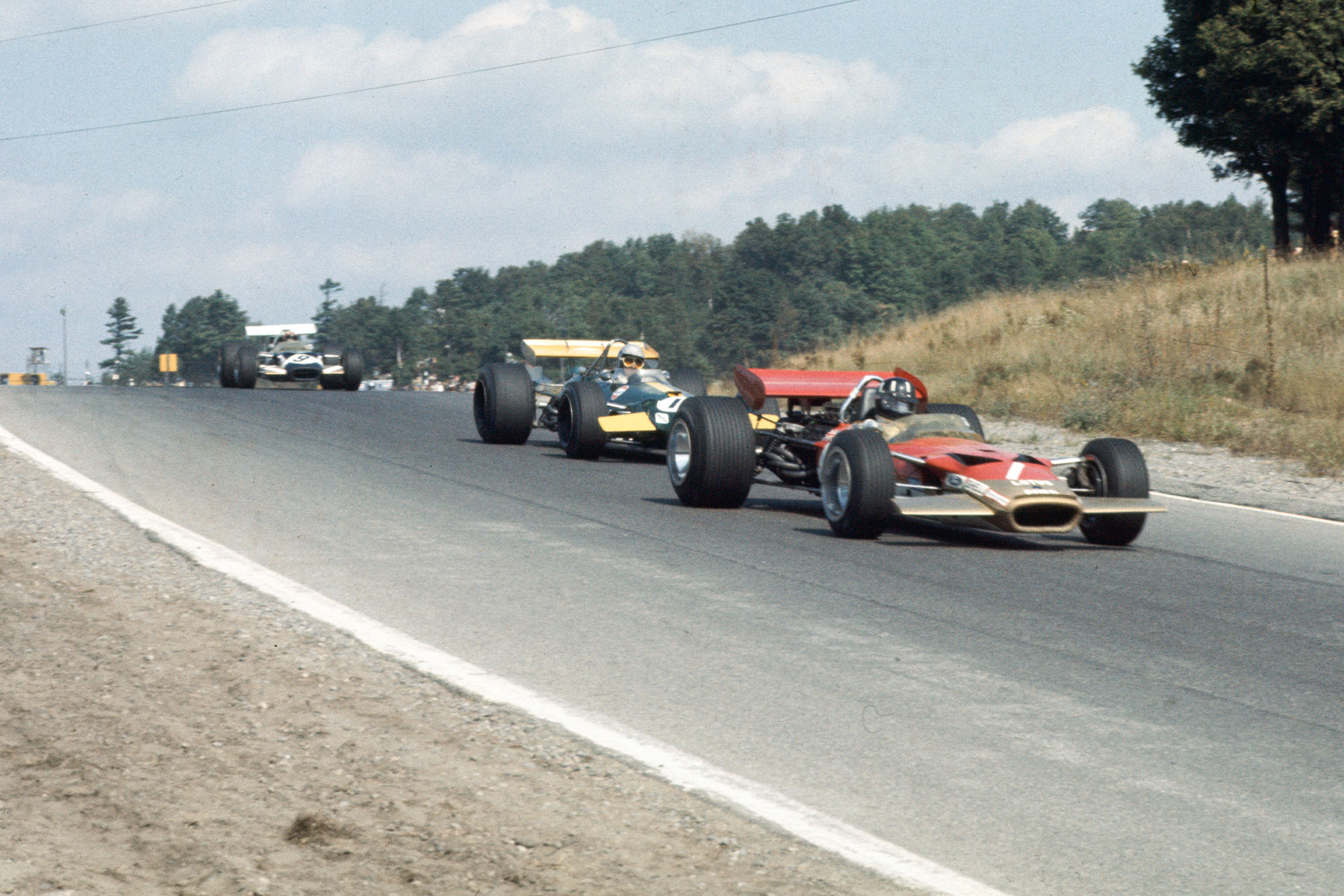 Graham Hill at the 1969 Canadian Grand Prix