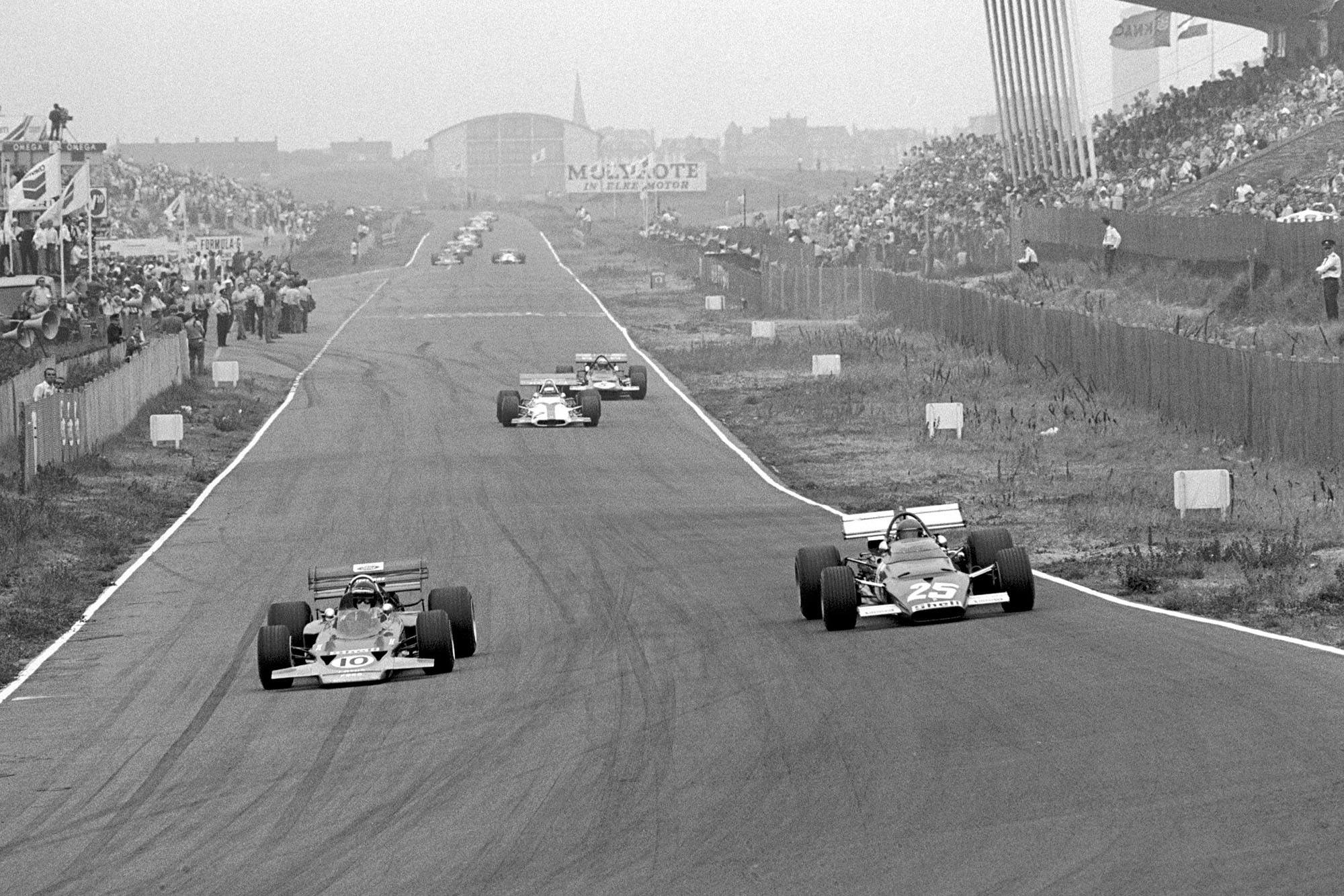 1970 Dutch GP action