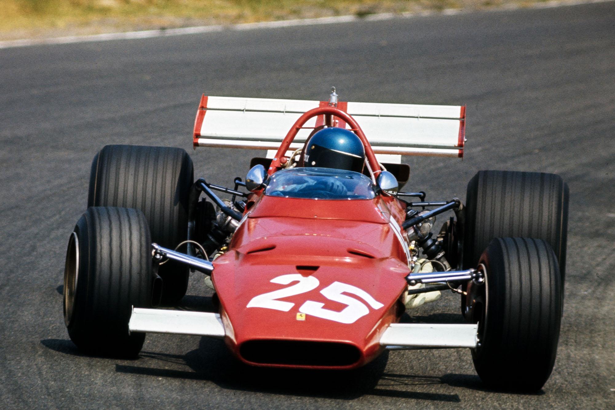 Jacky Ickx in his Ferrari at the 1970 Dutch Grand Prix