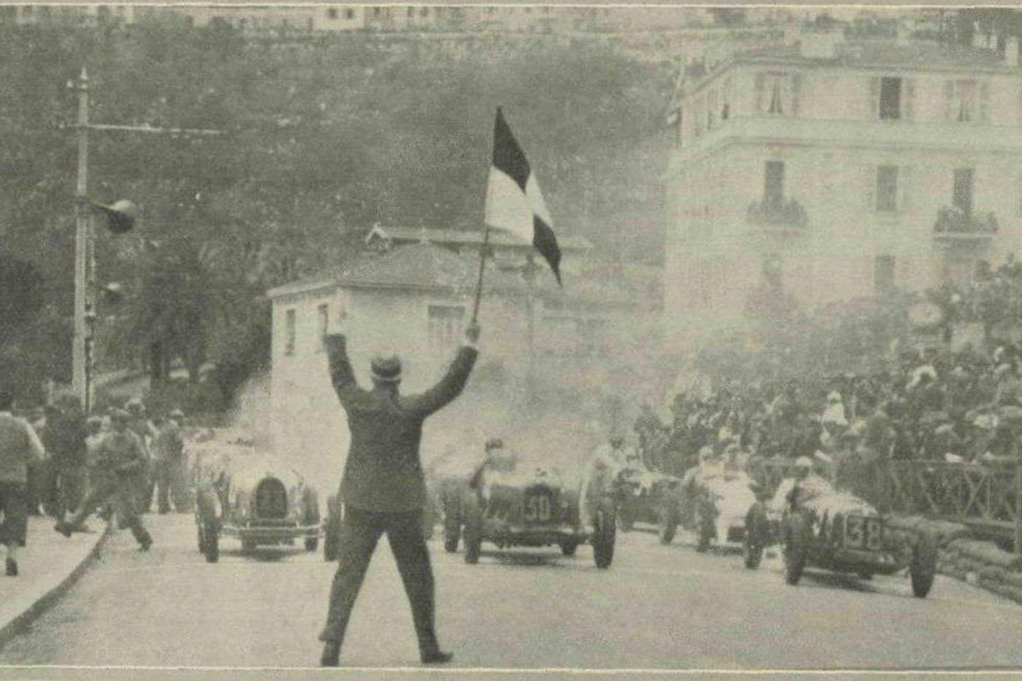 1932 Monaco Grand Prix start