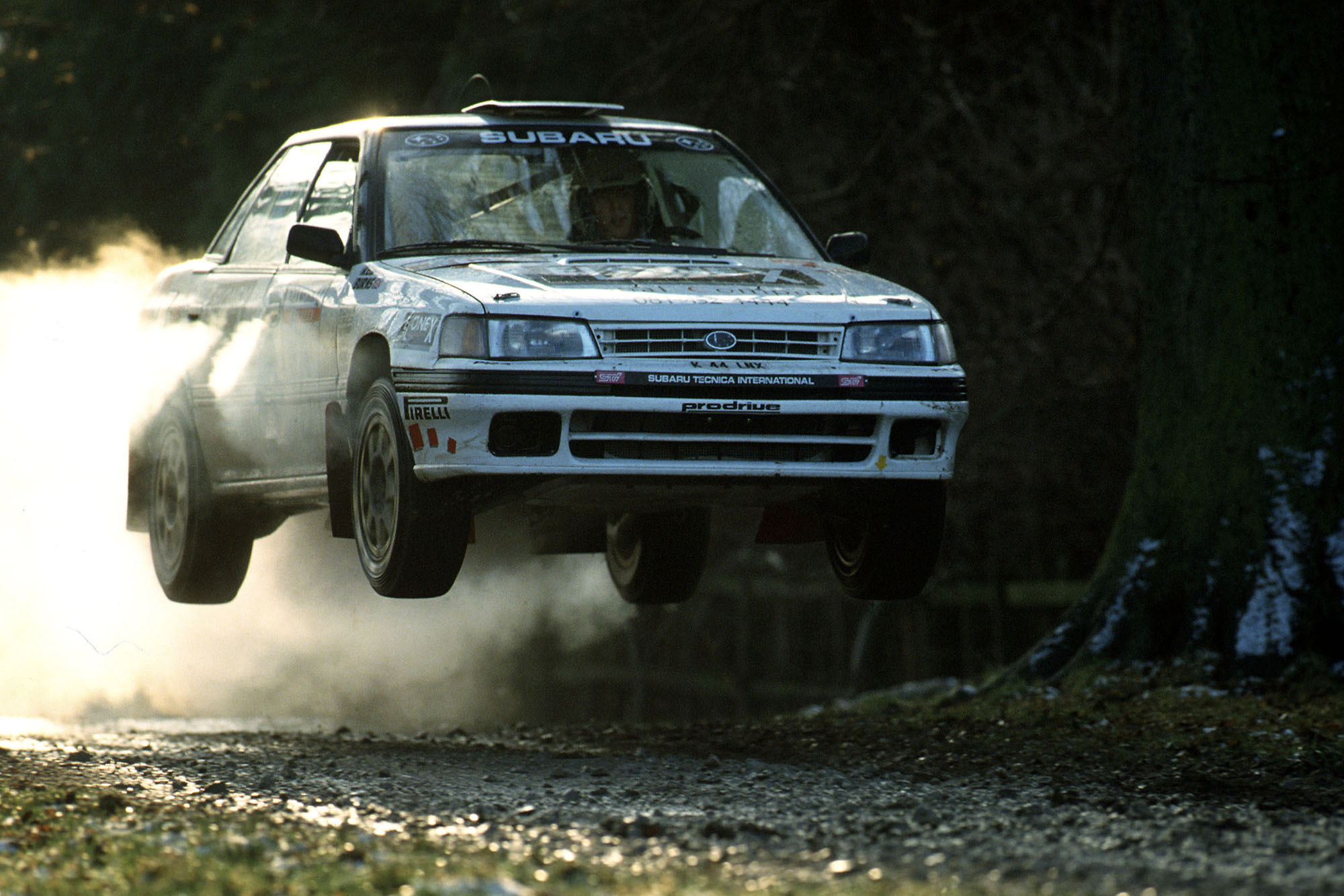 Richard Burns Subaru 1993 Rally GB