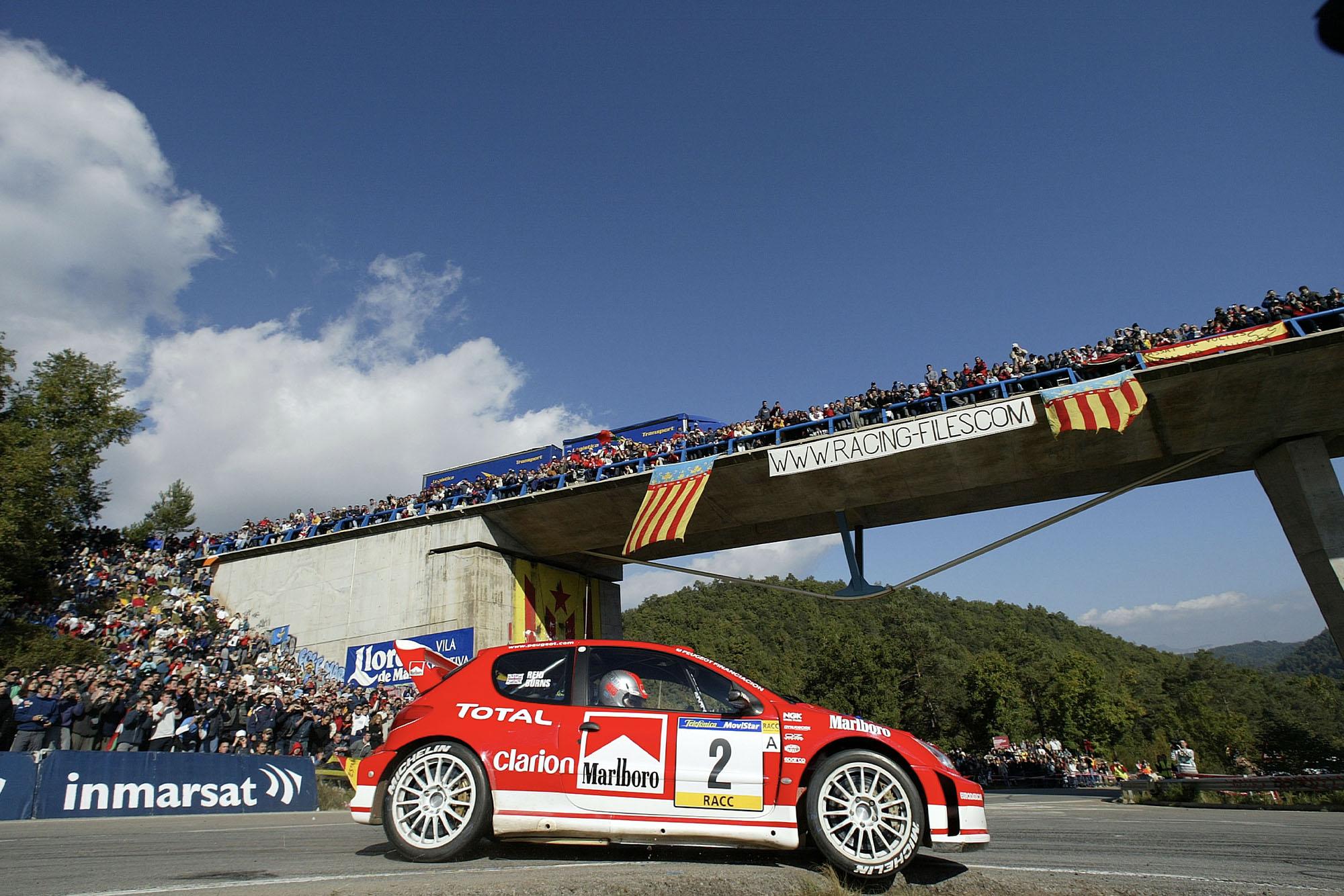 Richard Burns Peugeot 206 Rally de Catalunya