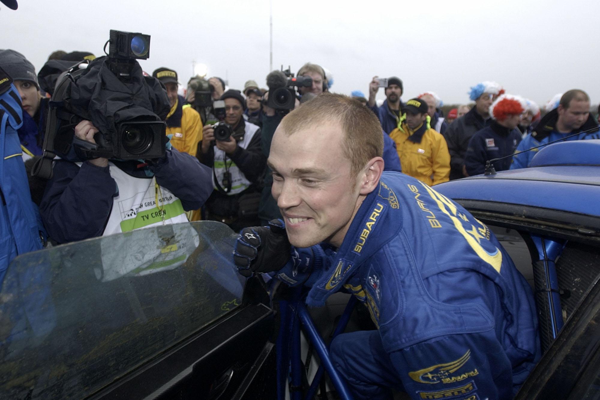 Richard Burns Subaru Impreza 2001 Rally GB