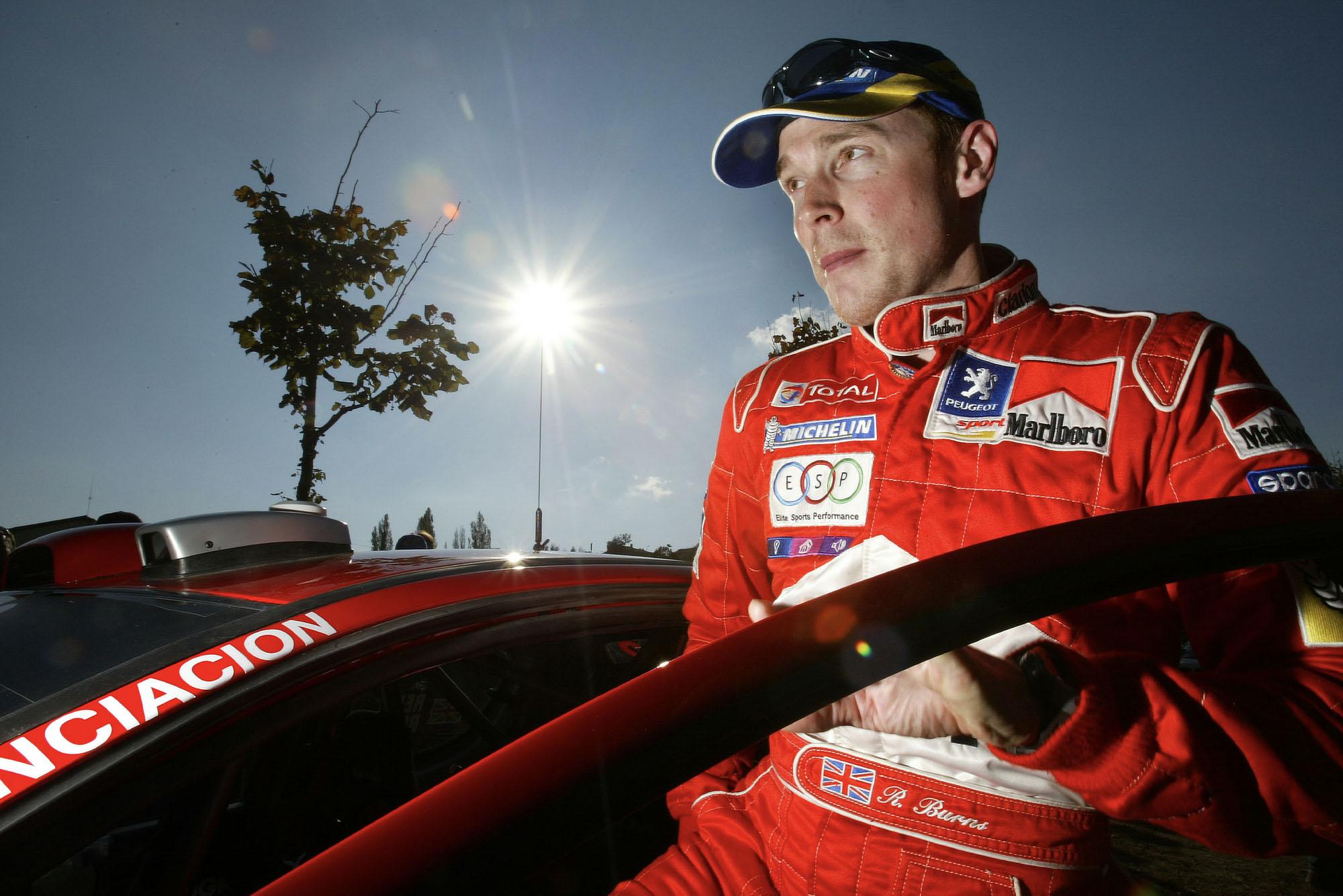 Richard Burns Peugeot Rally de Catalunya