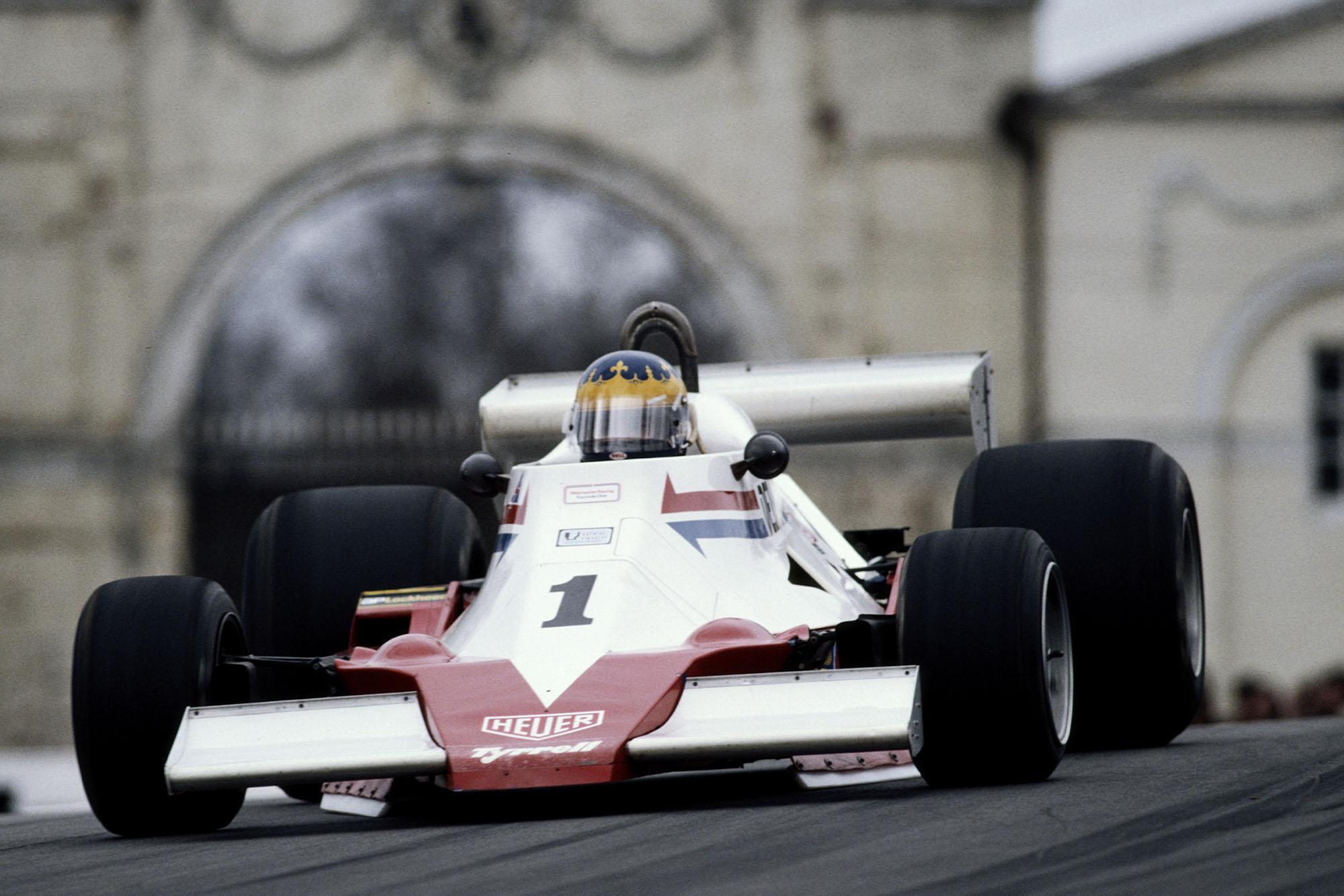 Desiré Wilson Tyrrell 008 1979 Oulton Park