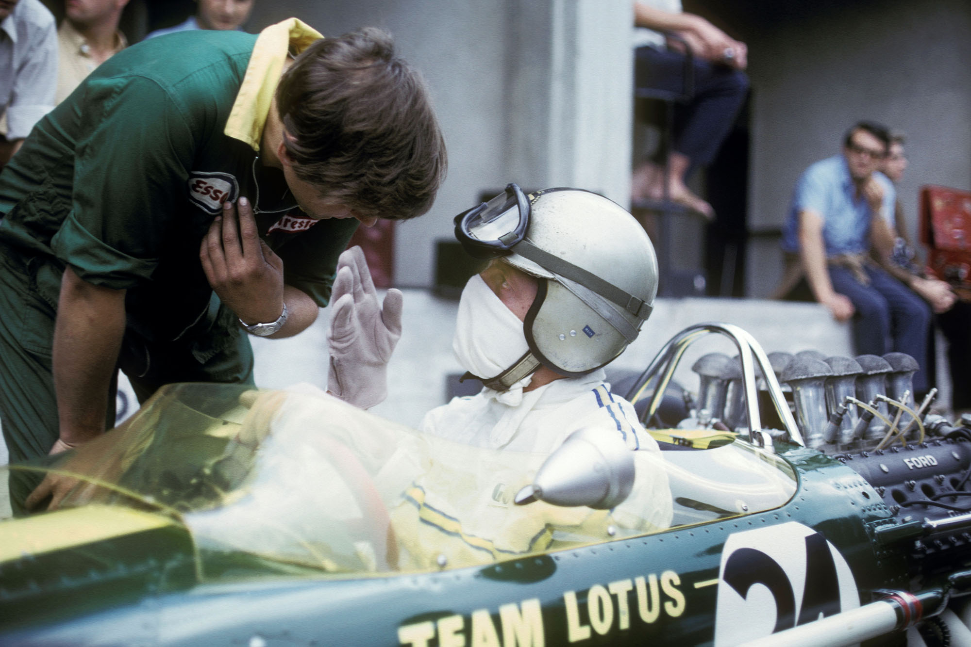 Giancarlo Baghetti Lotus 1967 Italian Grand Prix Monza