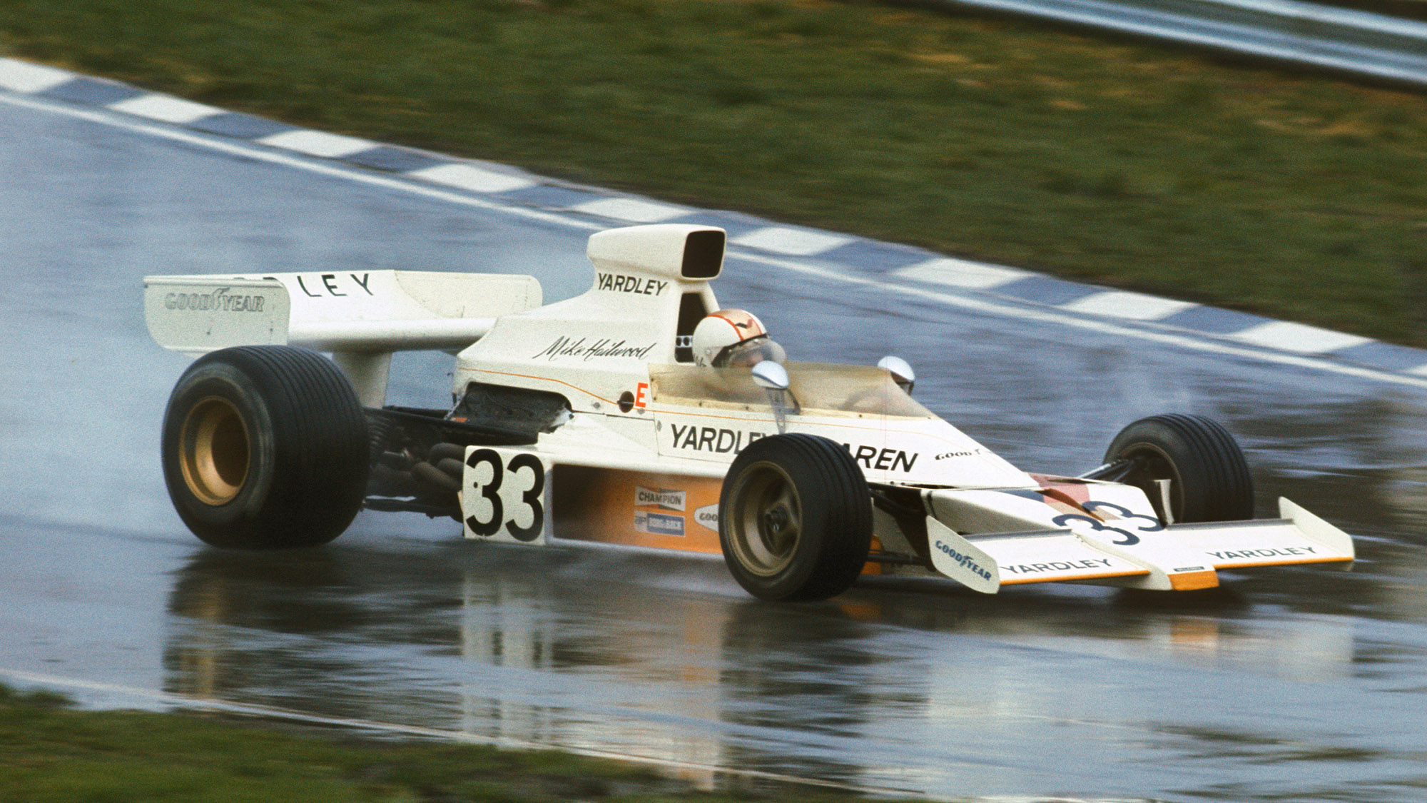 Mike Hailwood in the 1974 Race of Champions
