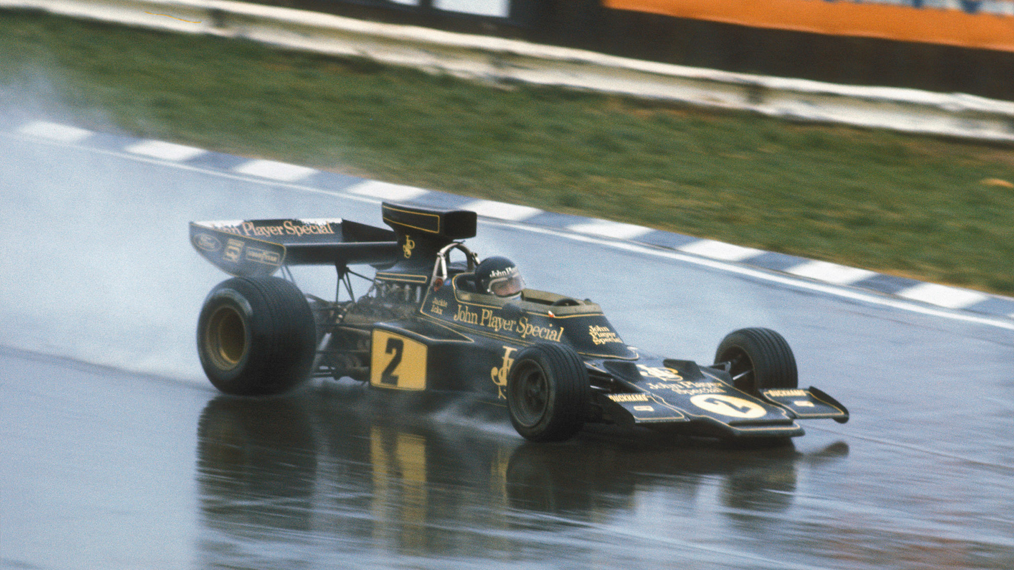 Jacky Ickx in the 1974 Race of Champions