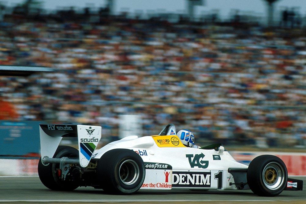 Keke Rosberg 1983 German Grand Prix Hockenheim