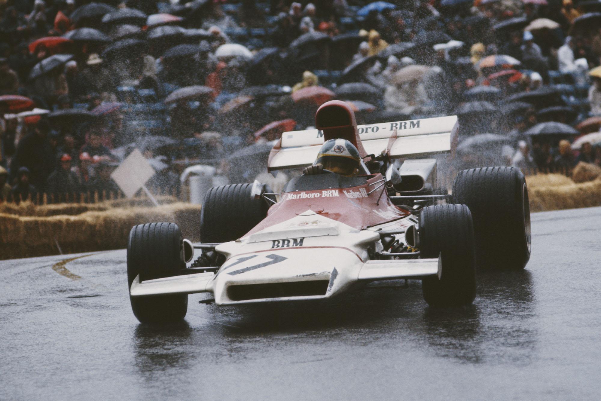 Jean-Pierre Beltoise driving at the 1972 Monaco Grand Prix for BRM.
