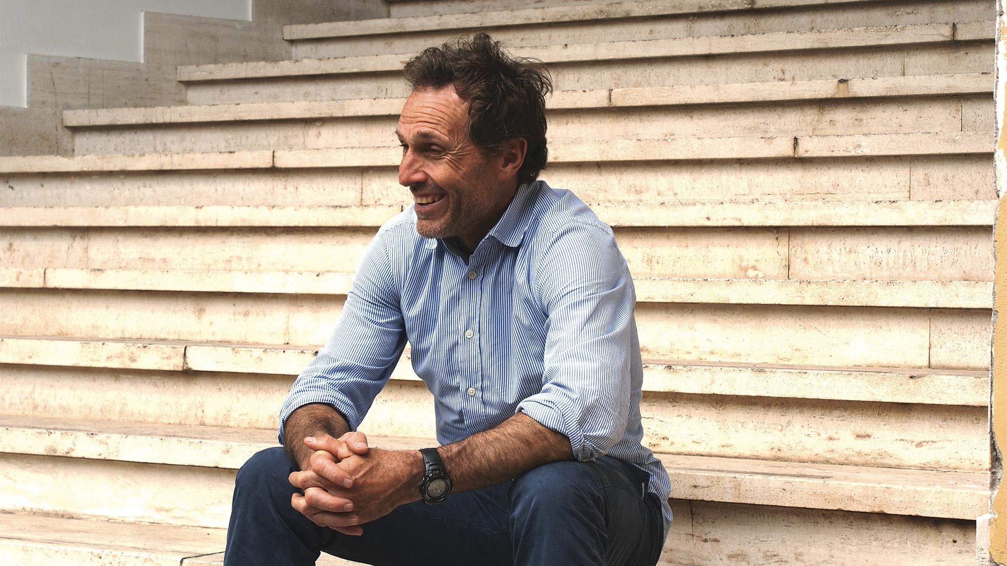 Andrea de Cesaris pictured in 2012