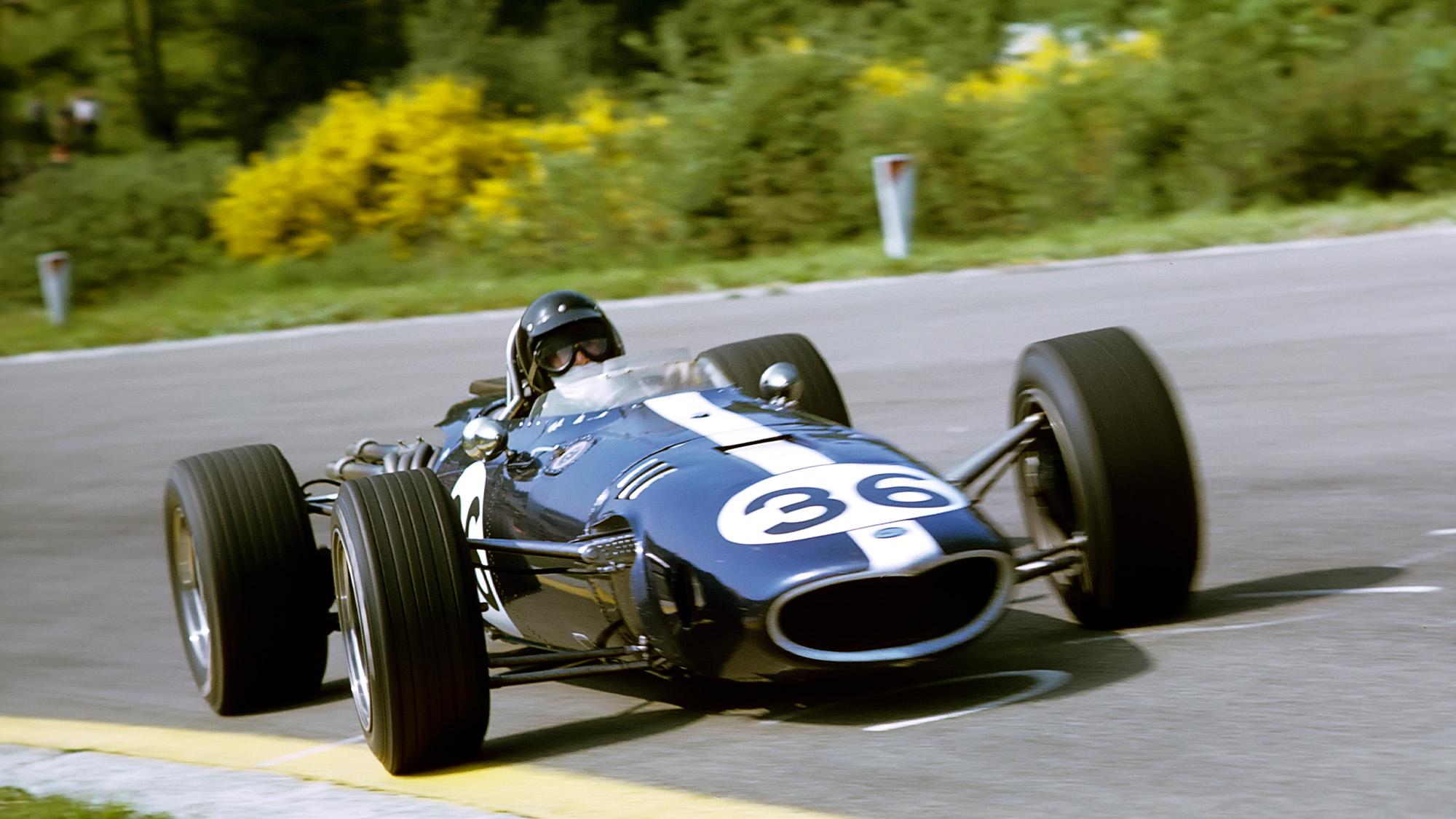 Dan Gurney in Eagle at 1967 F1 Belgian Grand Prix
