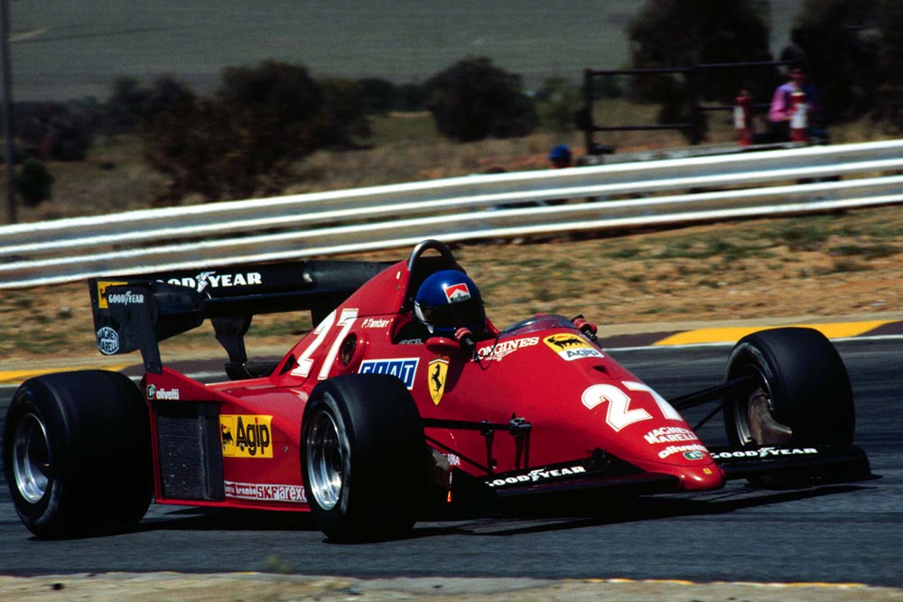 Patrick Tambay started on pole but did not finish.