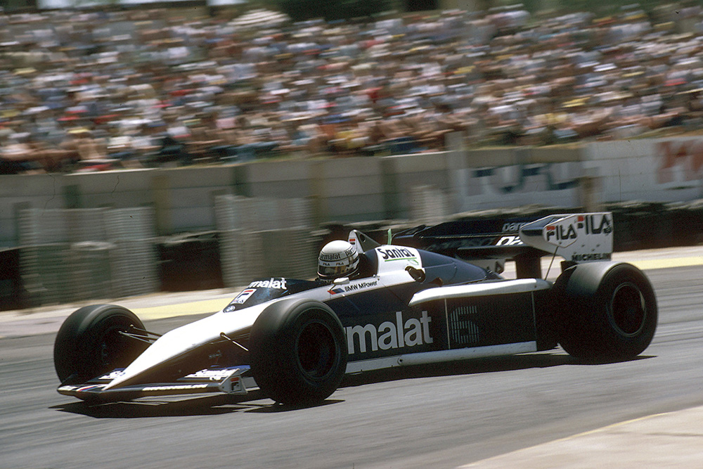 Brabham's Riccardo Patrese took his second career win