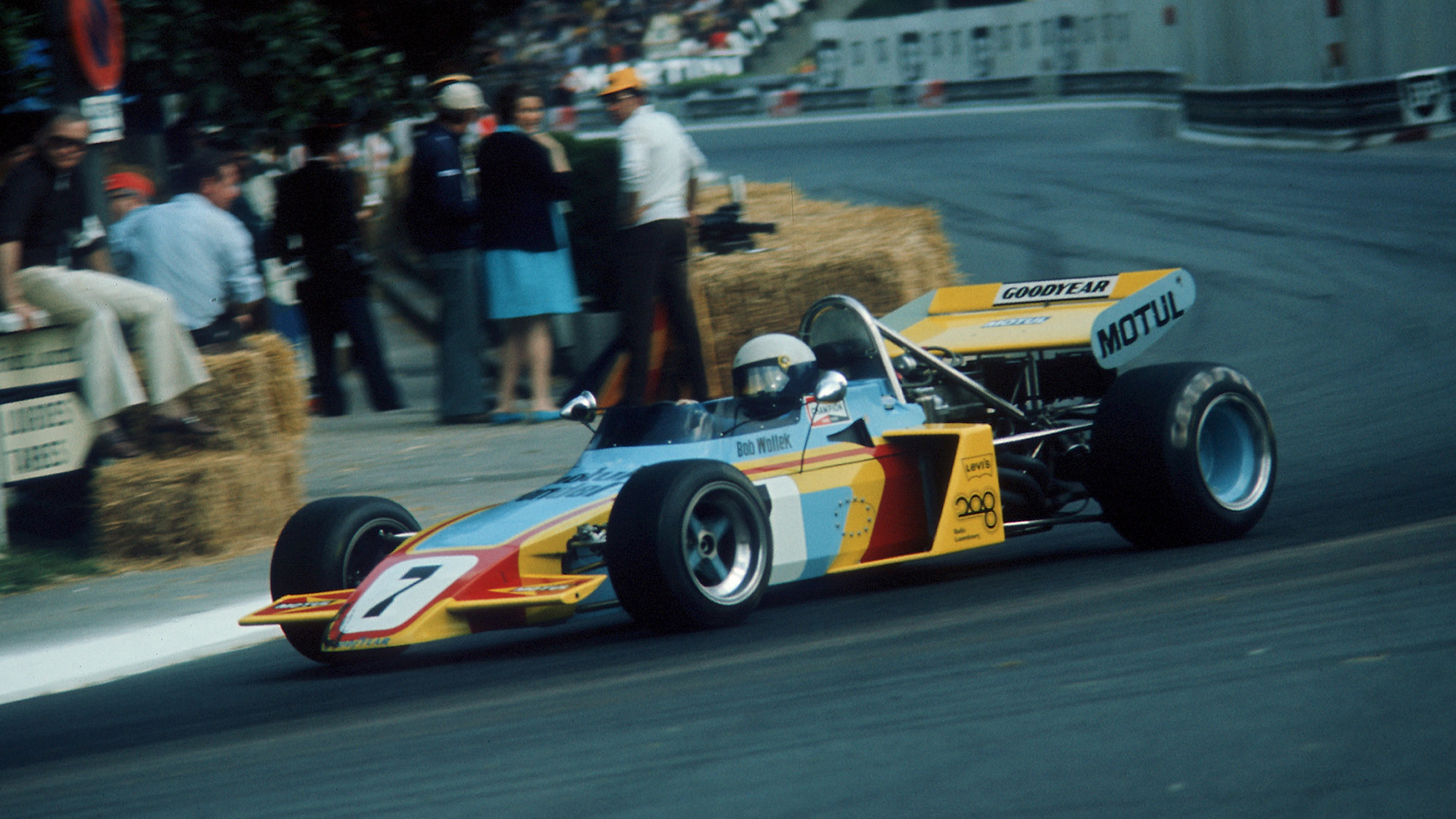 Bob Wollek driving for Rondel at the 1972 Pau Grand Prix