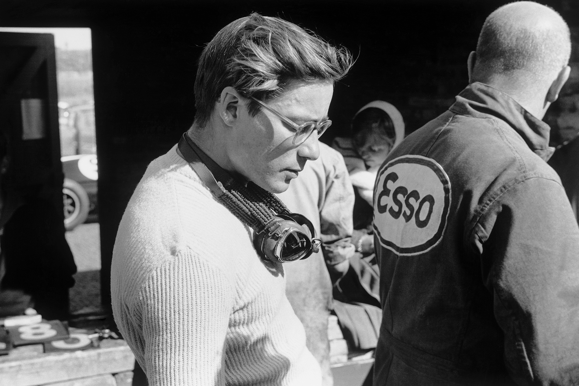 Masten Gregory who finished 3rd in his Cooper T51-Climax.
