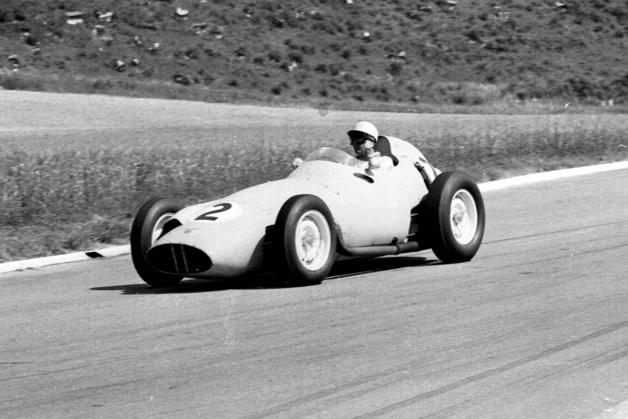 Jo Bonnier in his BRM P25.