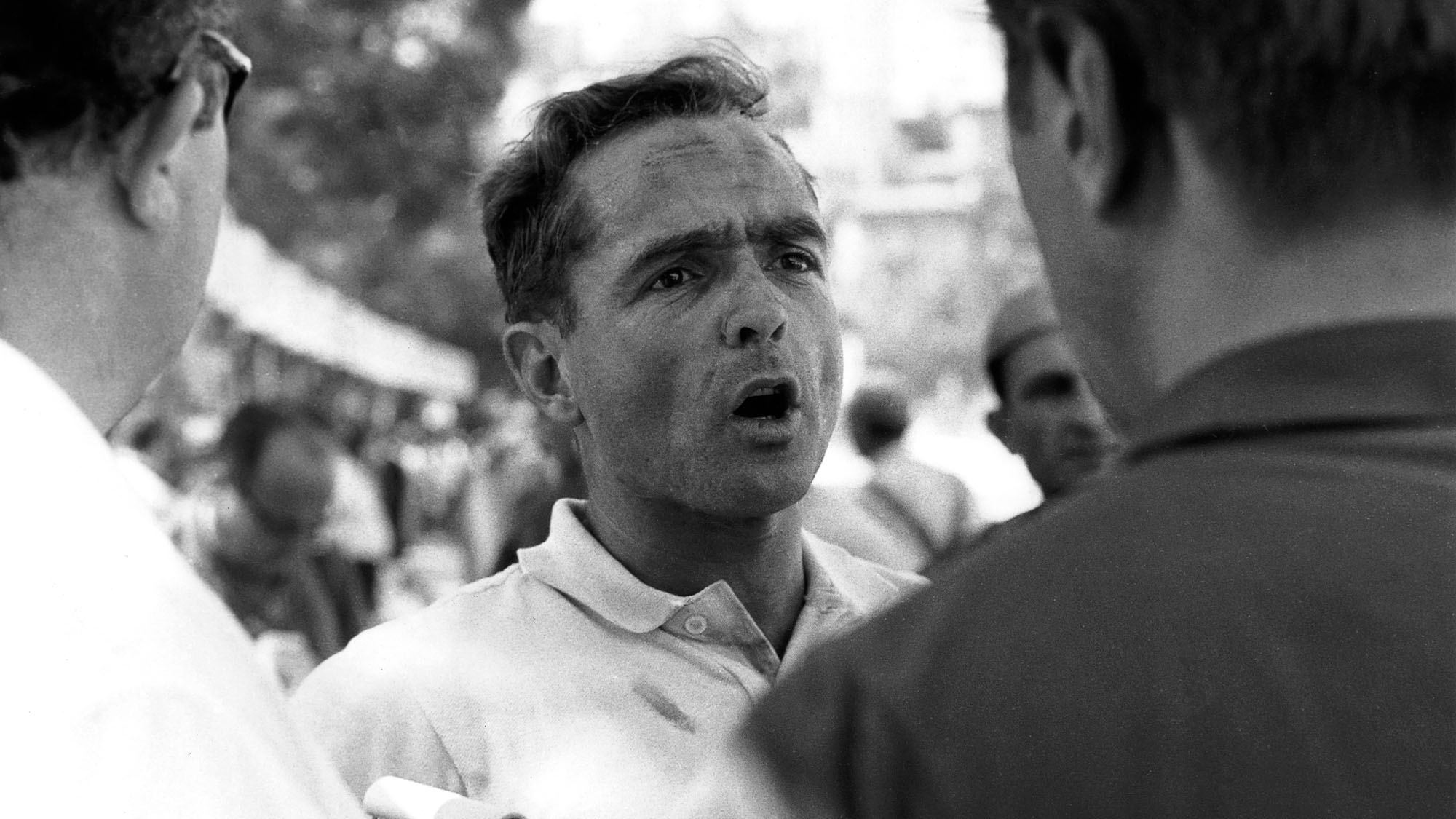 Phil Hill, Grand Prix of Italy, Autodromo Nazionale Monza, 10 September 1961. (Photo by Bernard Cahier/Getty Images)