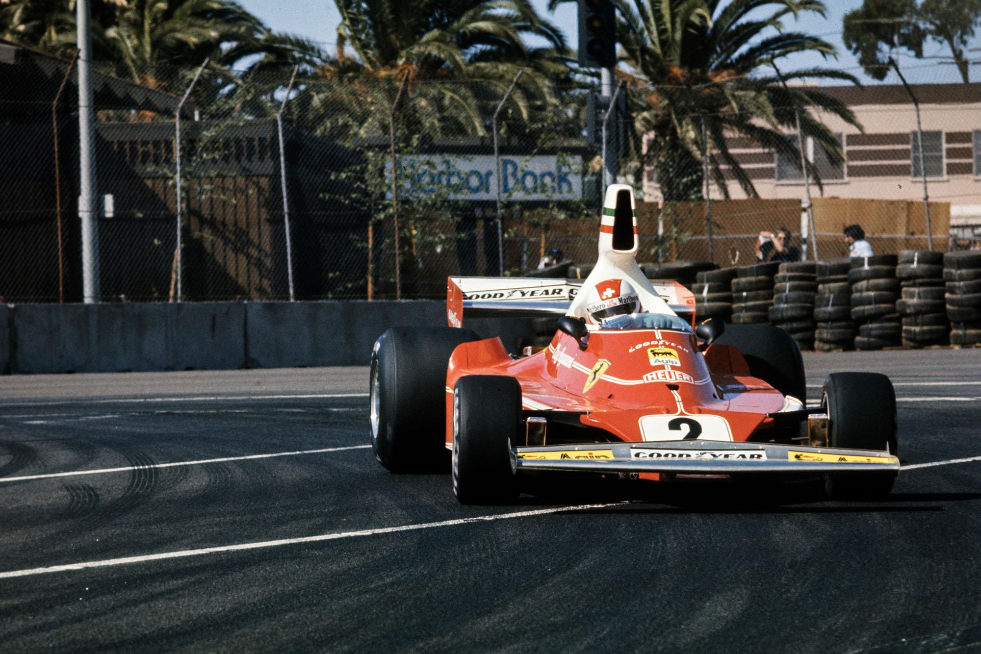 Clay Regazzoni (Ferrari), 1976 United States Grand Prix West,