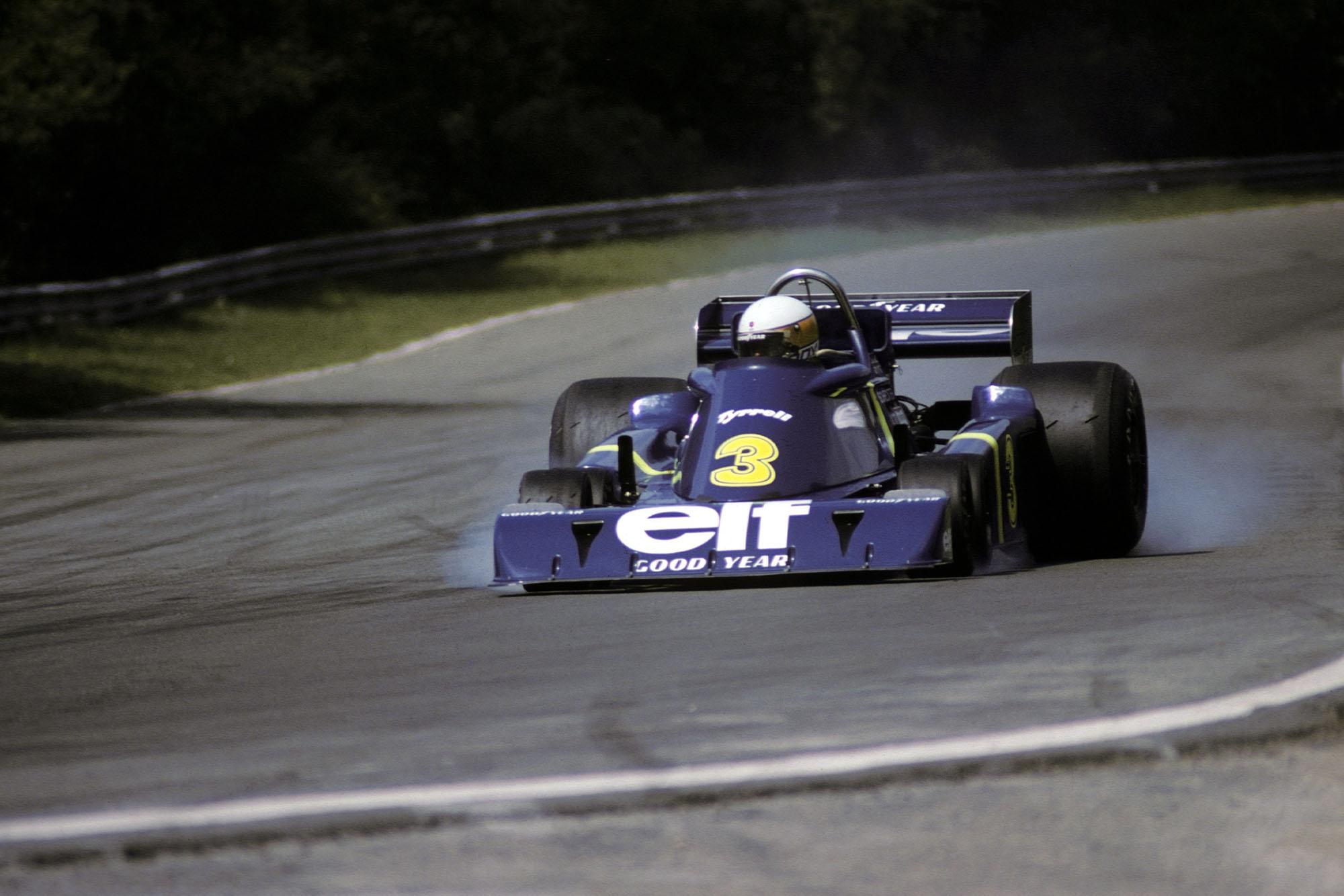 Jody Scheckter (Tyrrell), 1976 Belgian Grand Prix, Zolder.