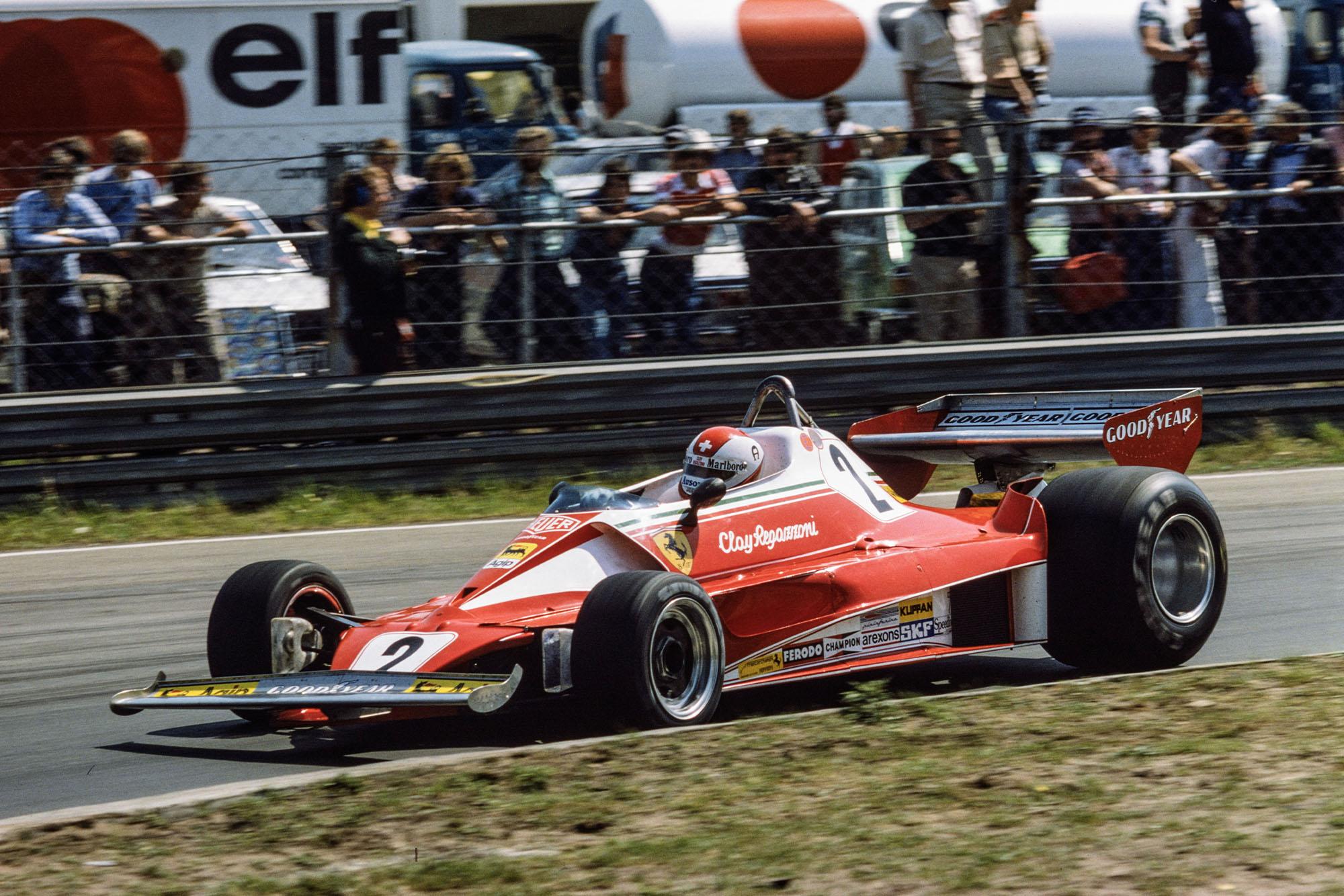 Clay Regazzoni (Ferrari), 1976 Belgian Grand Prix, Zolder.