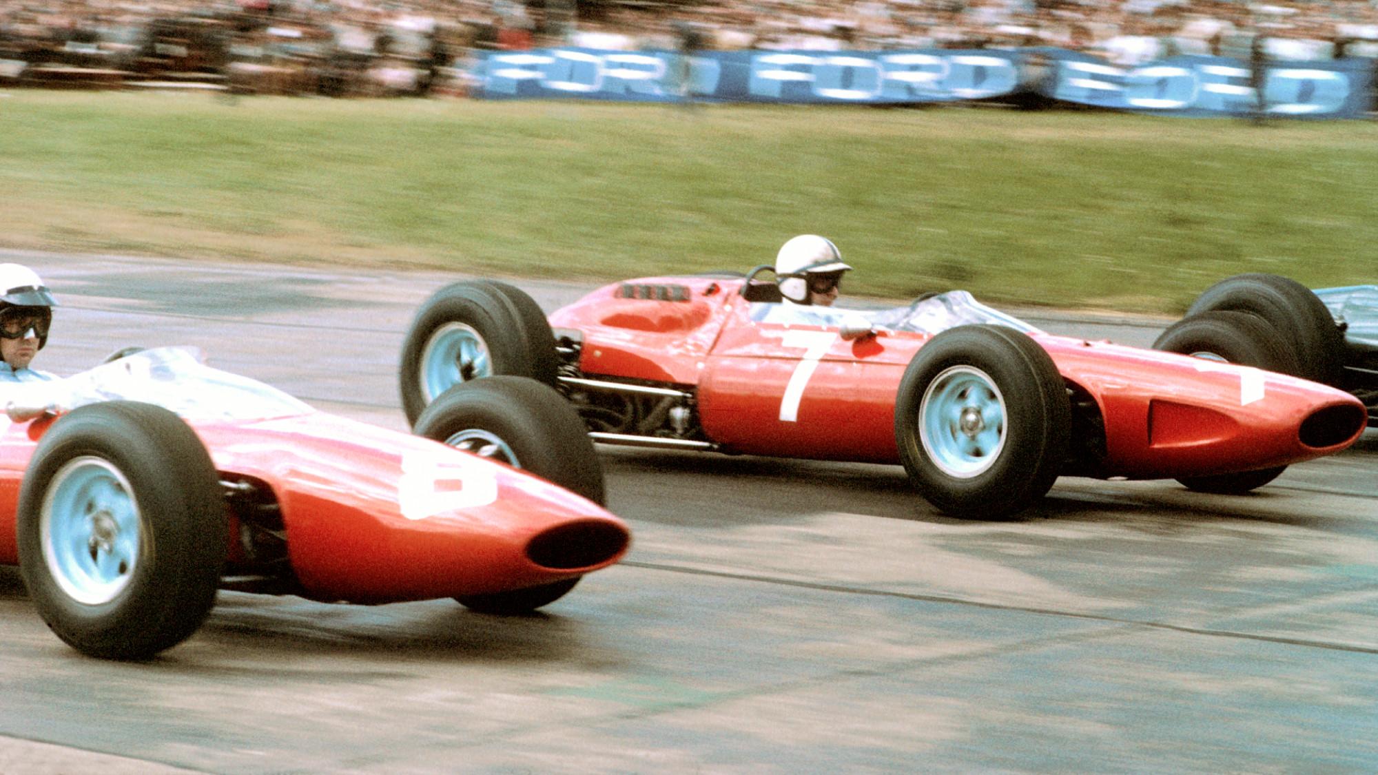 1964 Austrian GP, Bandini, Surtees