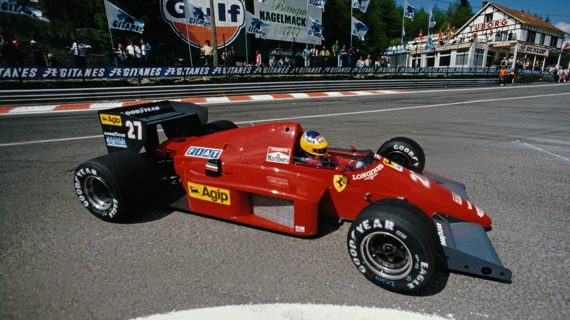 Michele Alboreto, Spa 1986