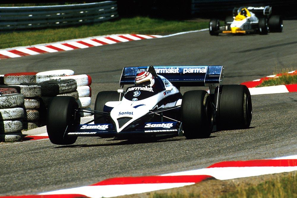 Nelson Piquet in his Brabham BT53, retired on lap 23.