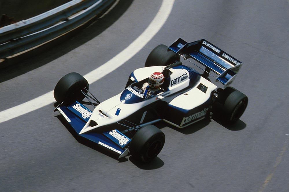 Winner Nelson Piquet in his Brabham BT53.