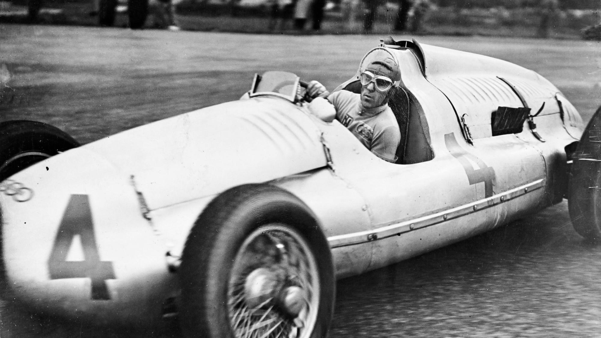 Tazio Nuvolari, 1938 Donington