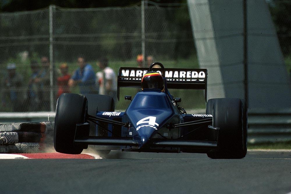 Stefan Bellof in his Tyrrell 012.