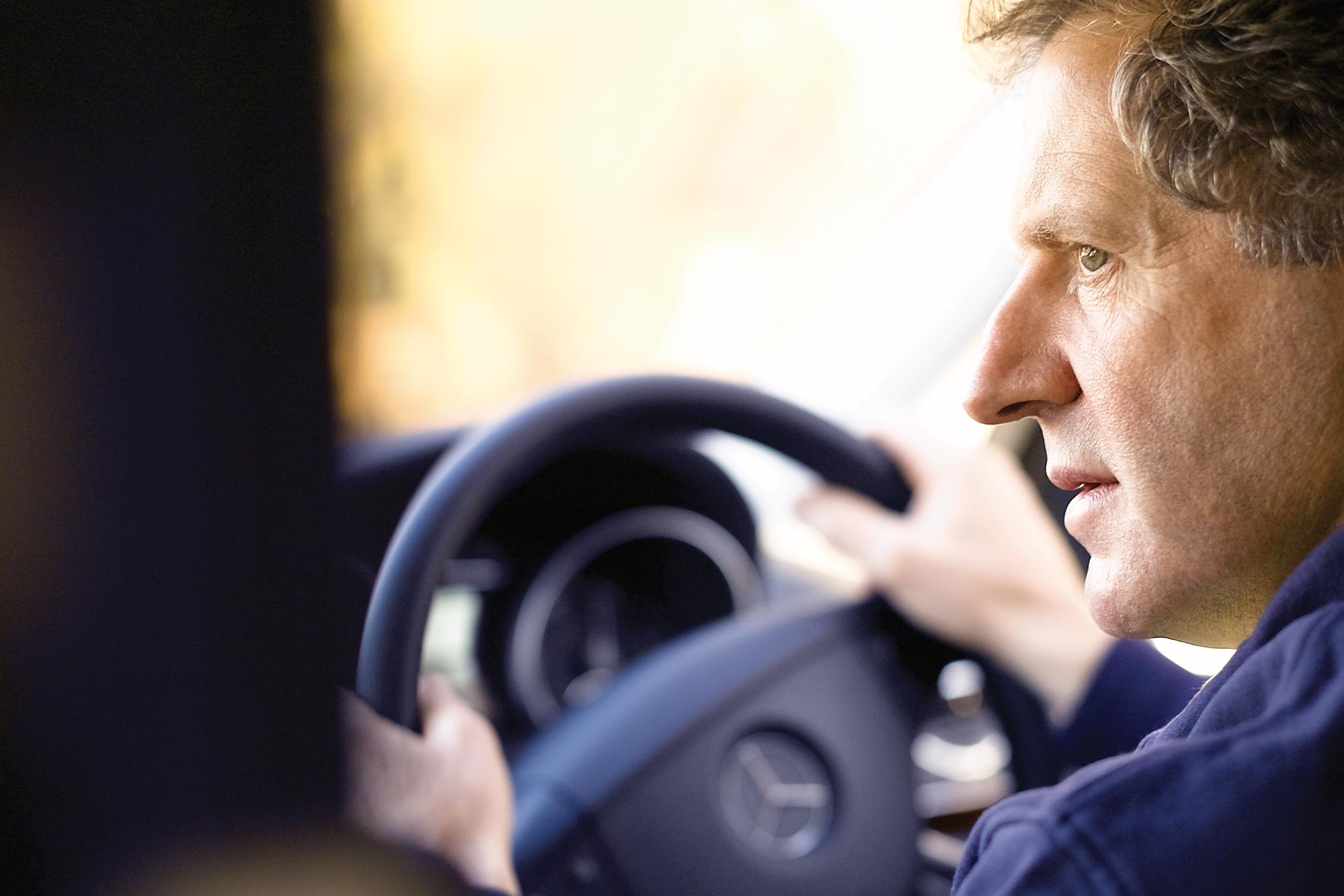 Jody Scheckter driving