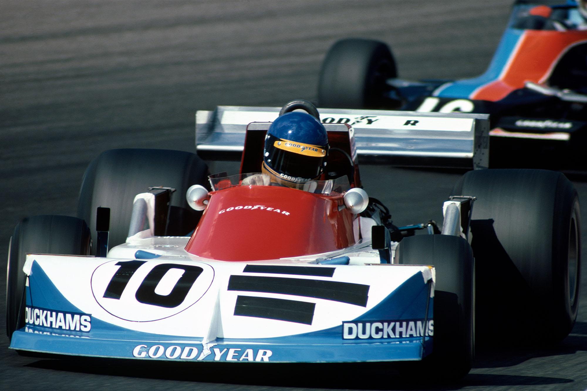 Ronnie Peterson (March) at the 1976 DUtch Grand Prix, Zandvoort.