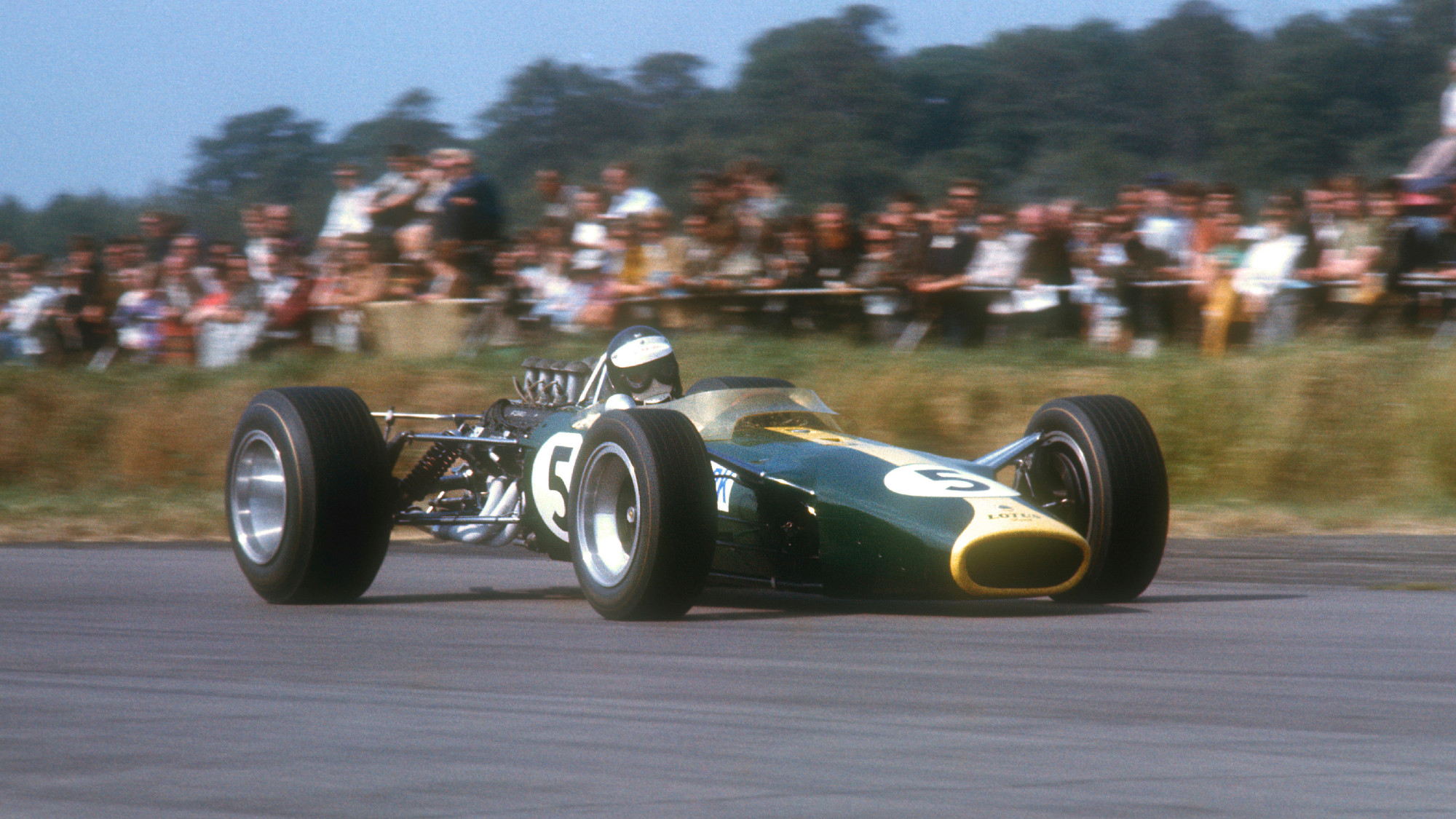 Jim Clar, 1967 British GP