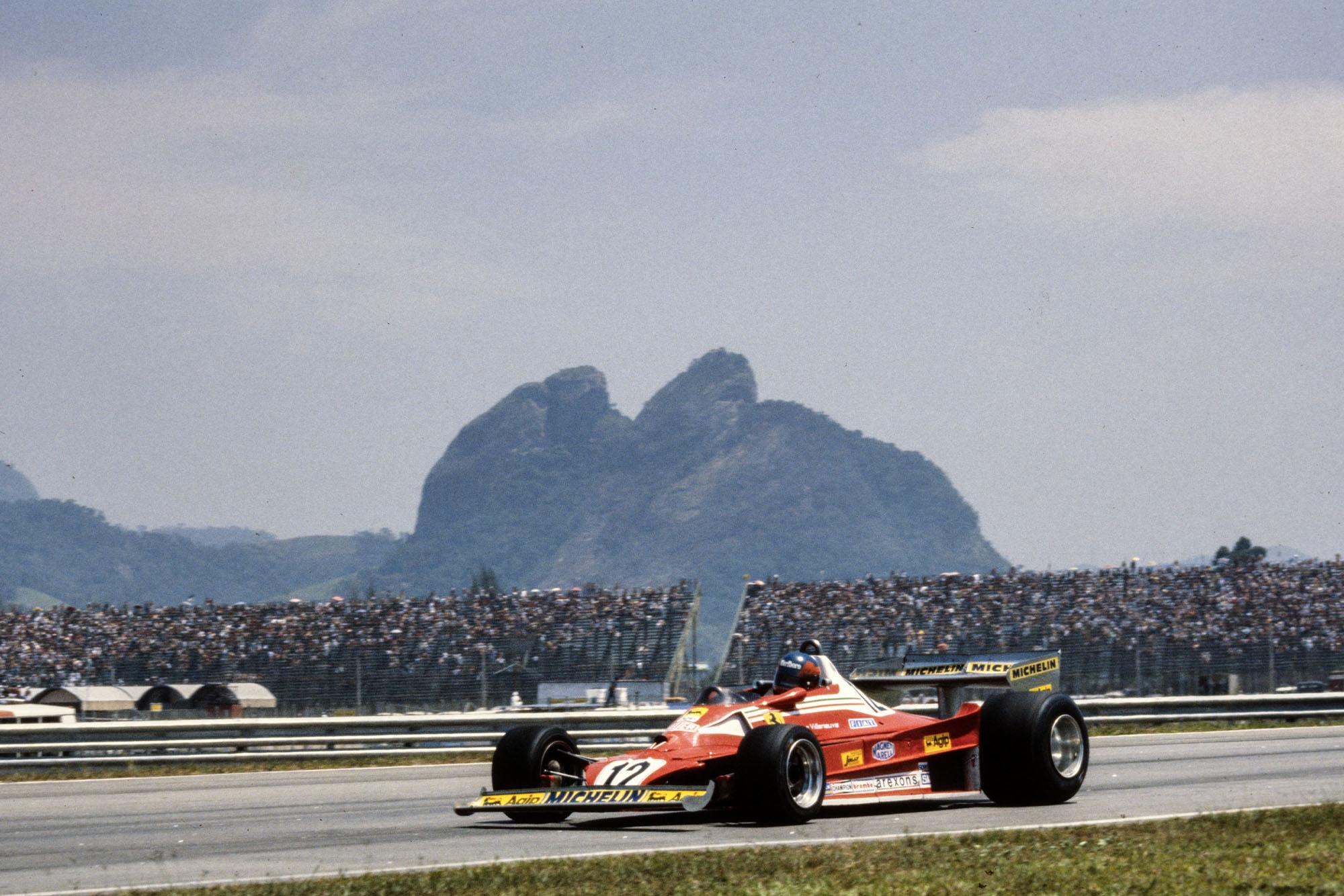 Gilles Villeneuve (Ferrari), 1978 Brazilian Grand Prix, Jacarepagua.