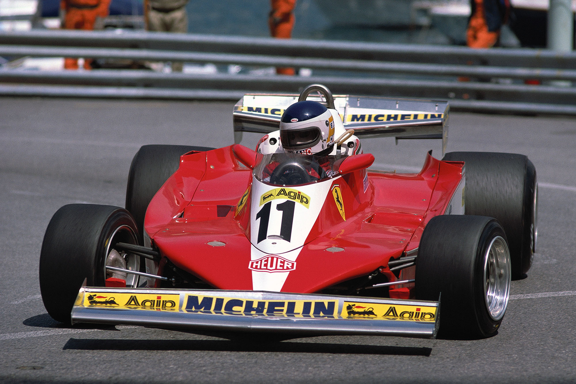 Carlos Reutemann (Ferrari) at the 1978 Monaco Grand Prix.