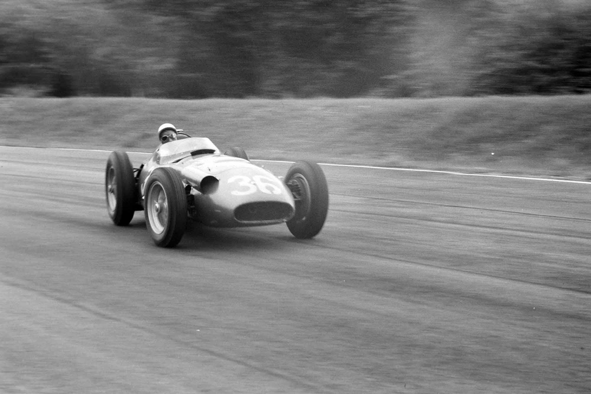 Stirling Moss, Maserati 250F,