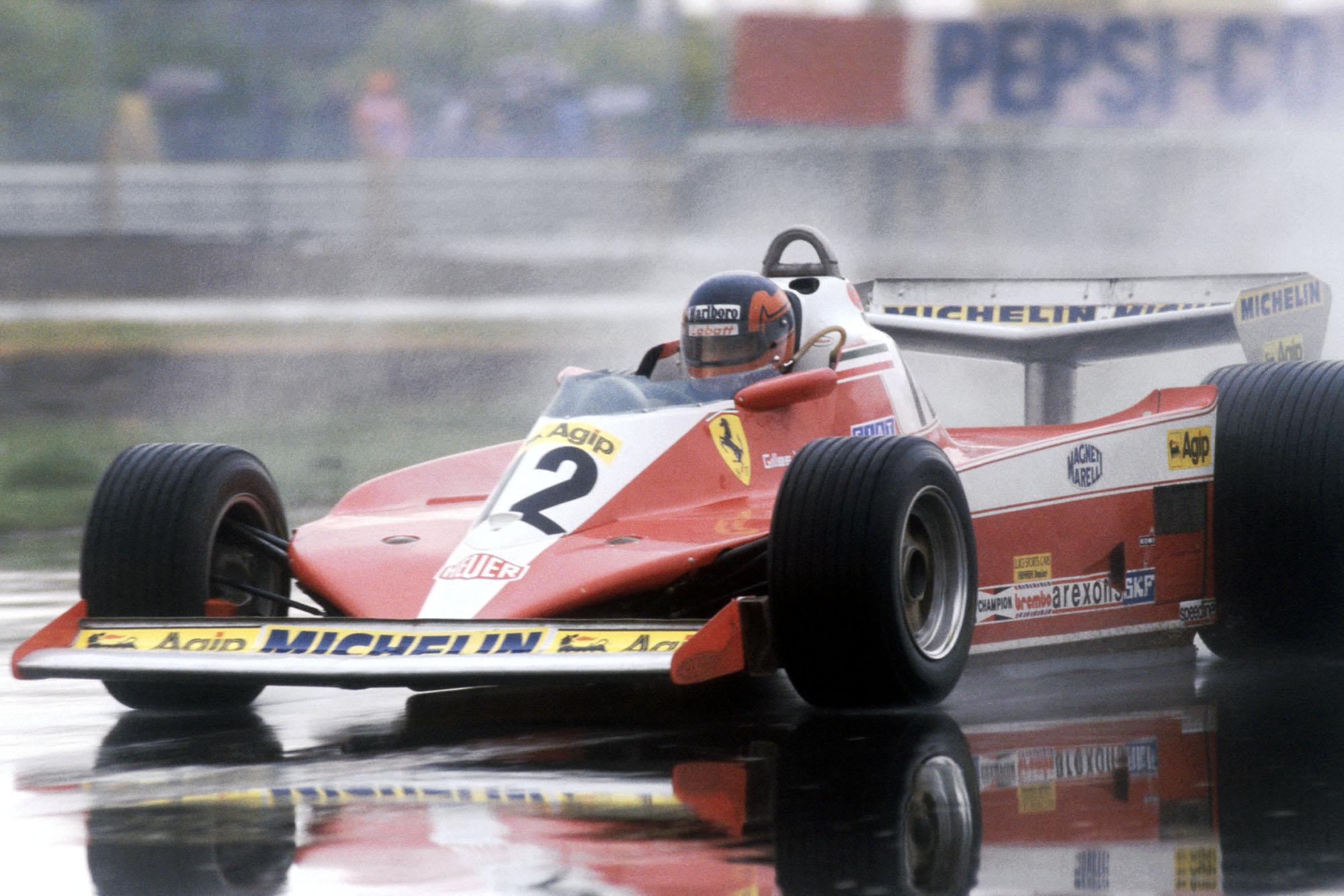 Gilles Villeneuve (Ferrari) at the 1978 Canadian Grand Prix, Montreal.