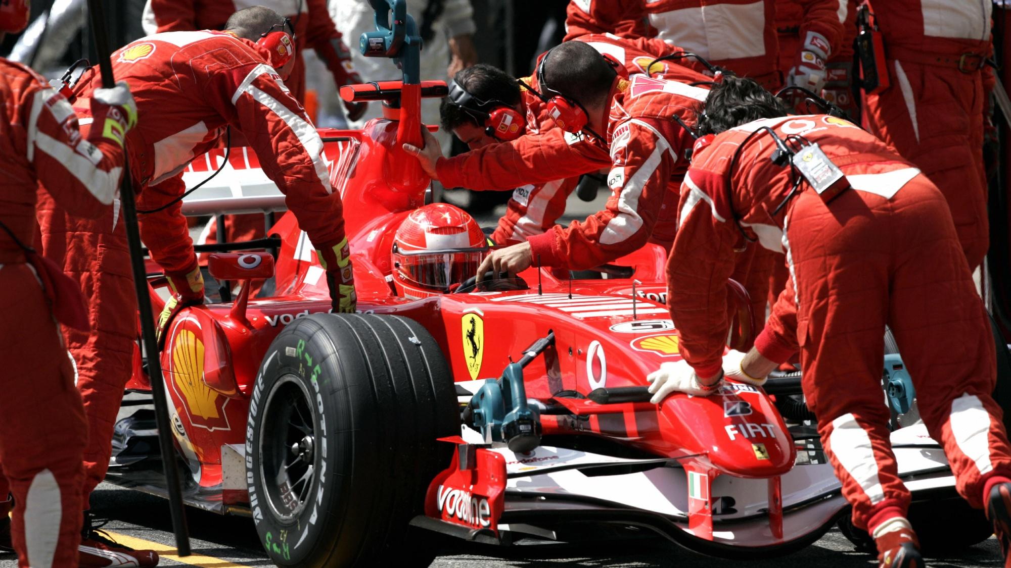 2006 Brazil GP, Michael Schumacher