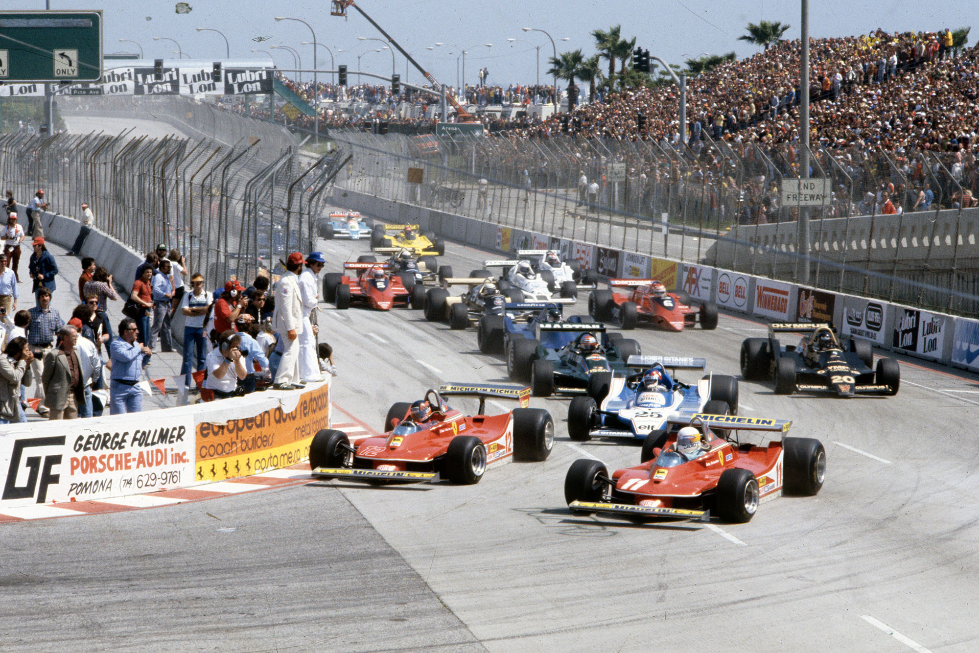The 1979 United States Grand Prix West gets underway at Long Beach.