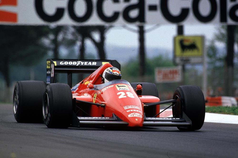 Ferrari driver Stefan Johansson.