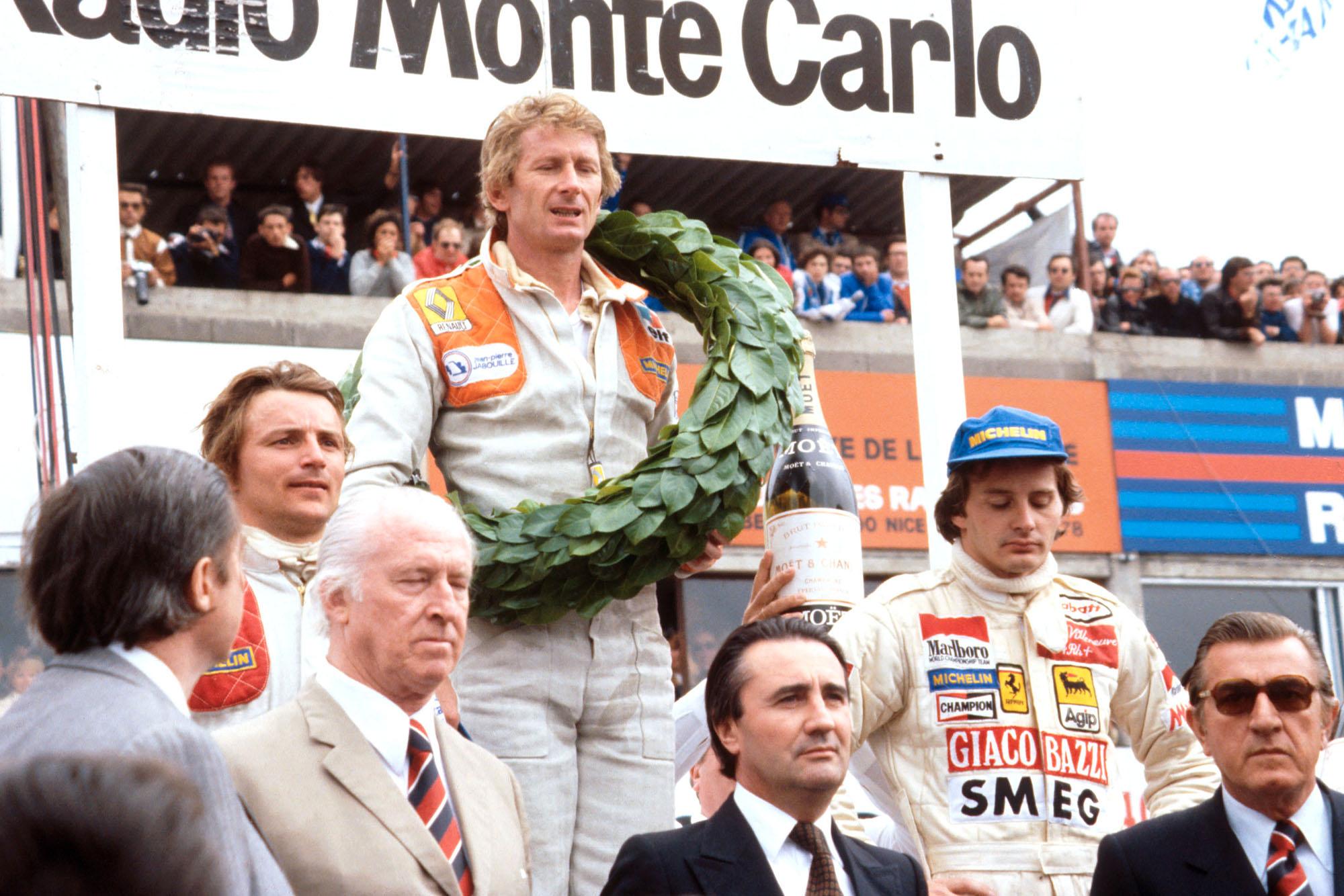 1979 French GP podium