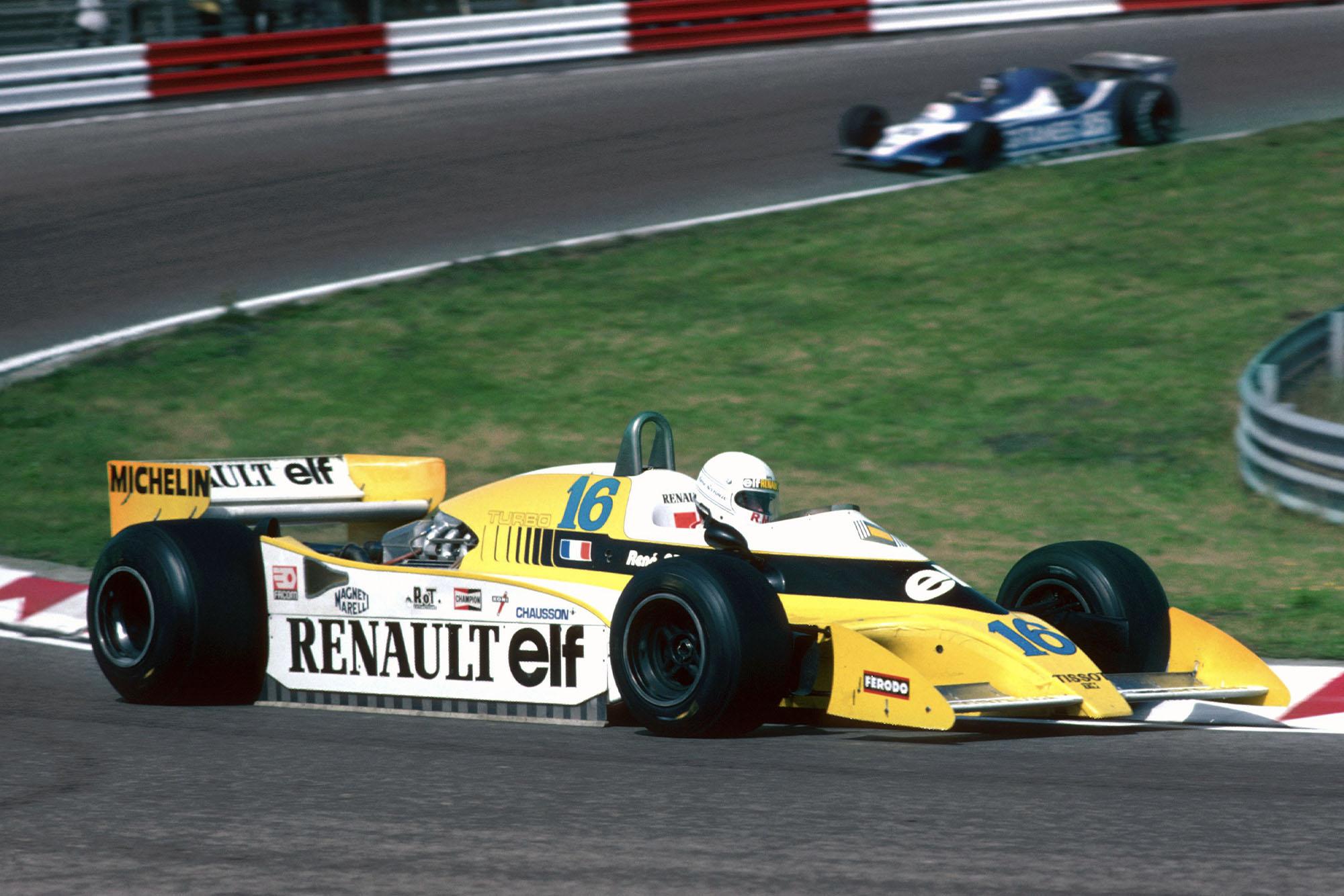 1979 Dutch GP Arnouxcrash1stlap