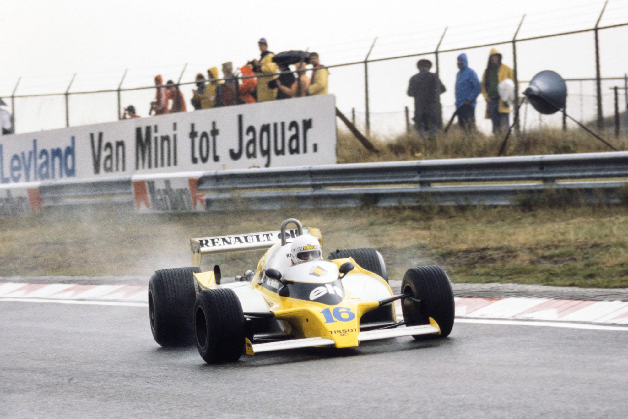 1979 Dutch GP pole Arnoux