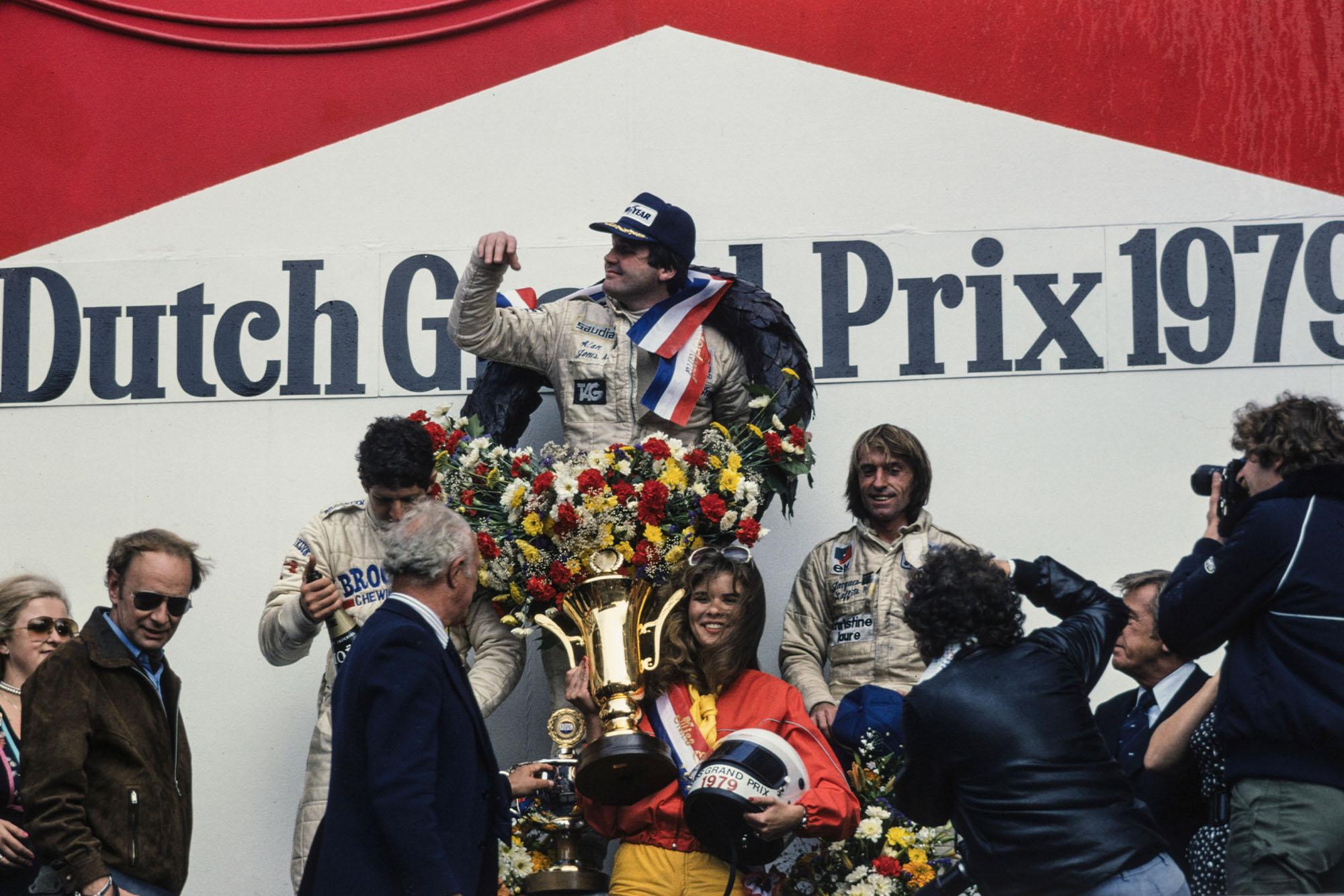 1979 Dutch GP podium