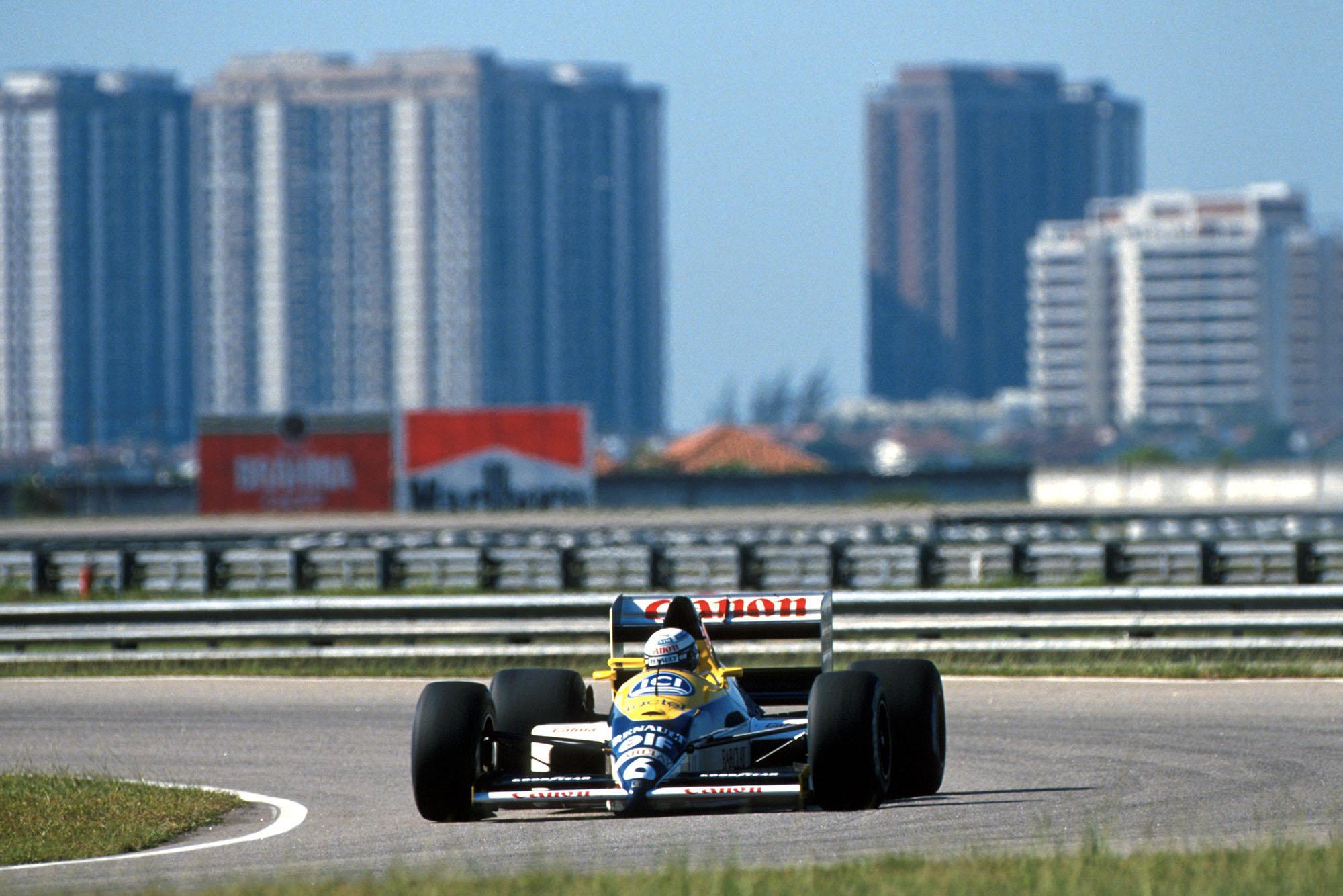 1989 Brazilian GP Patrese fastest lap