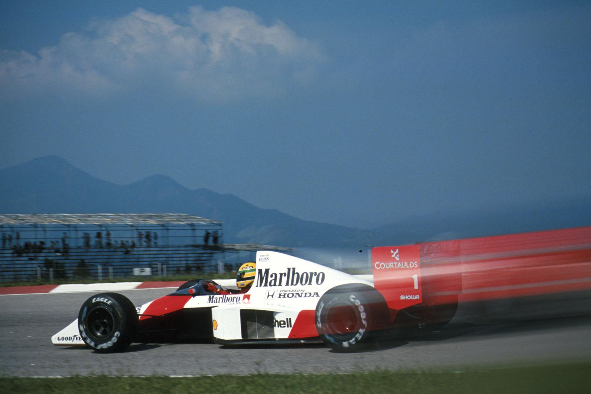 1989 Brazilian GP Senna pole