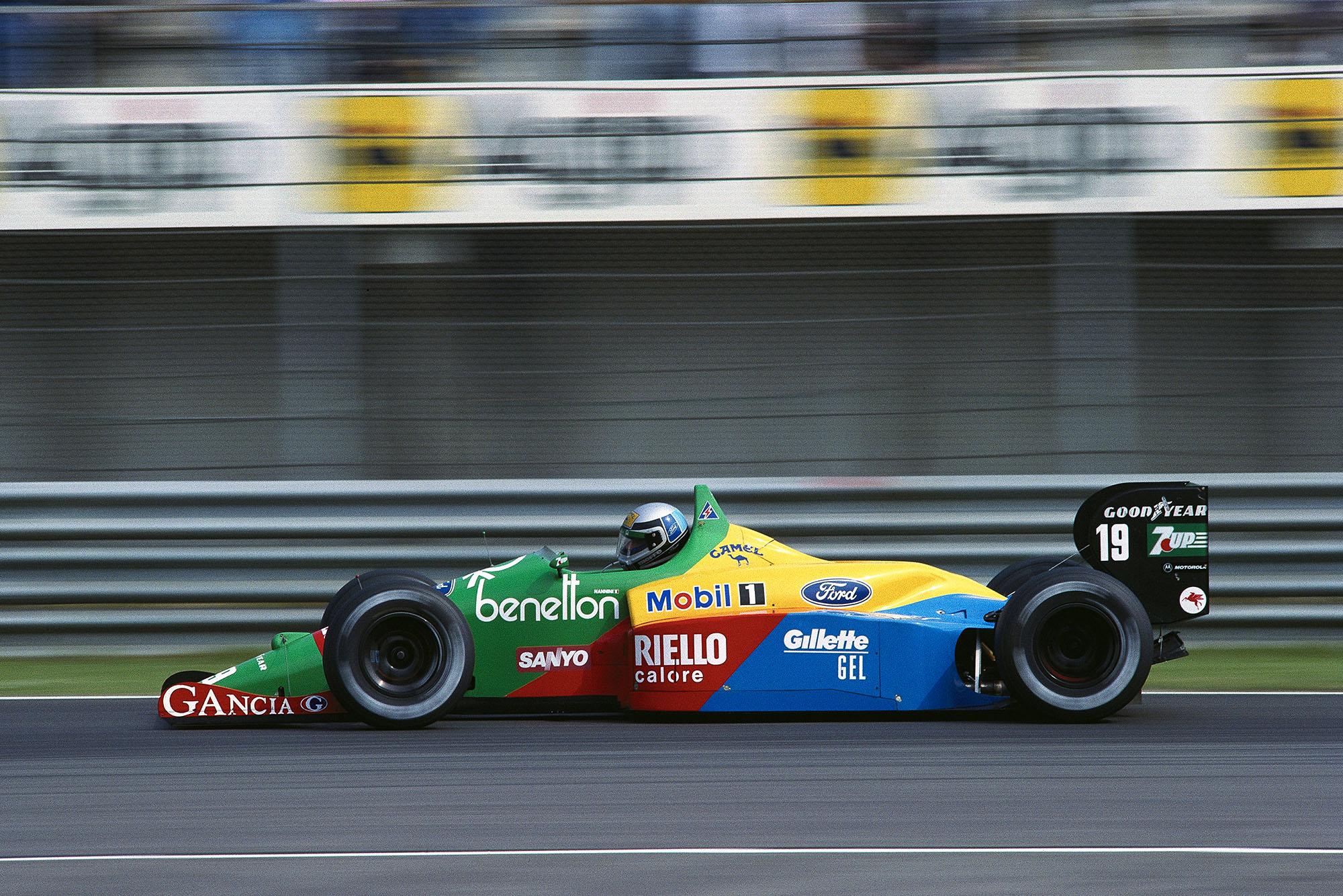 1989 Monaco GP Nannini 3rd