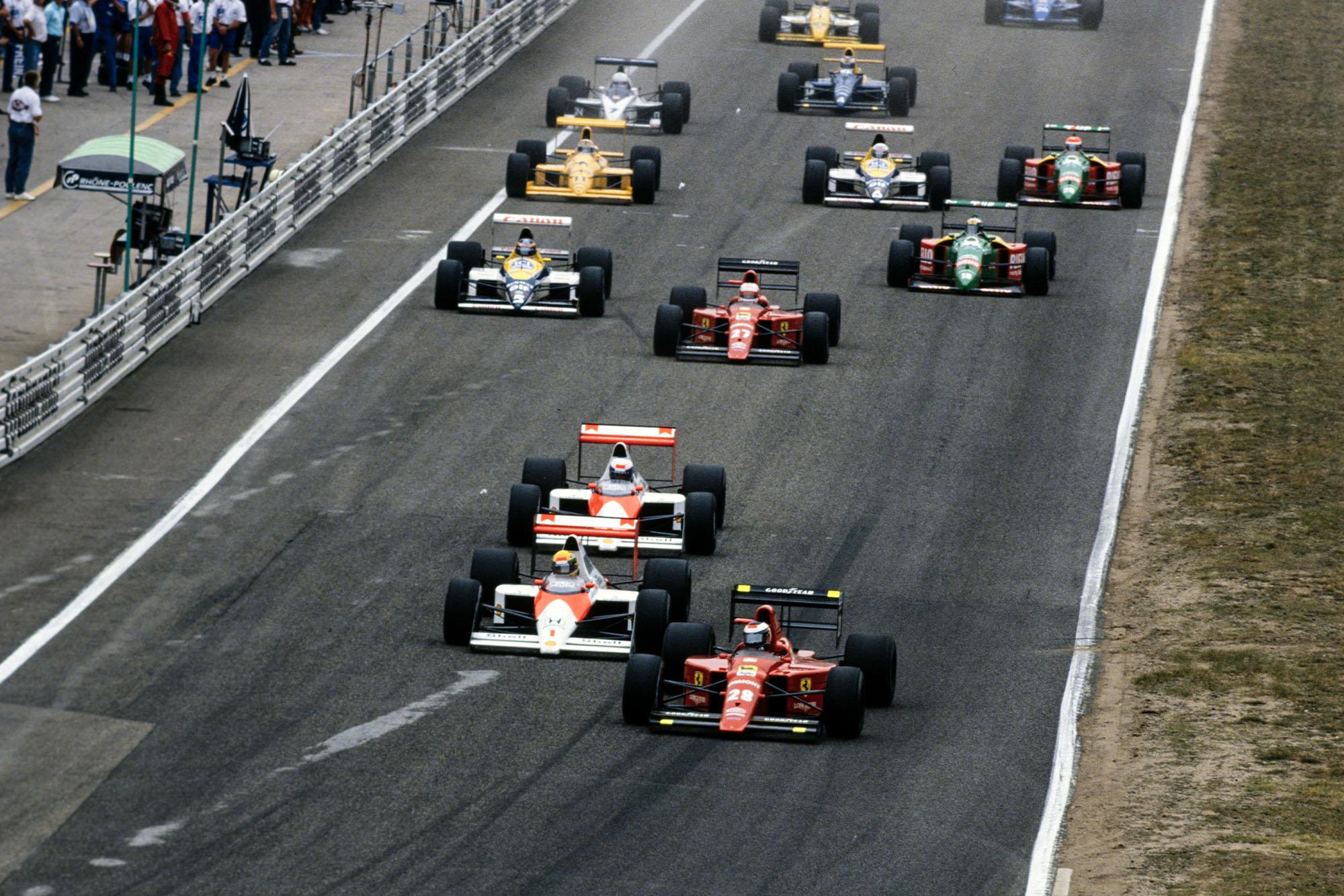 1989 GER GP start